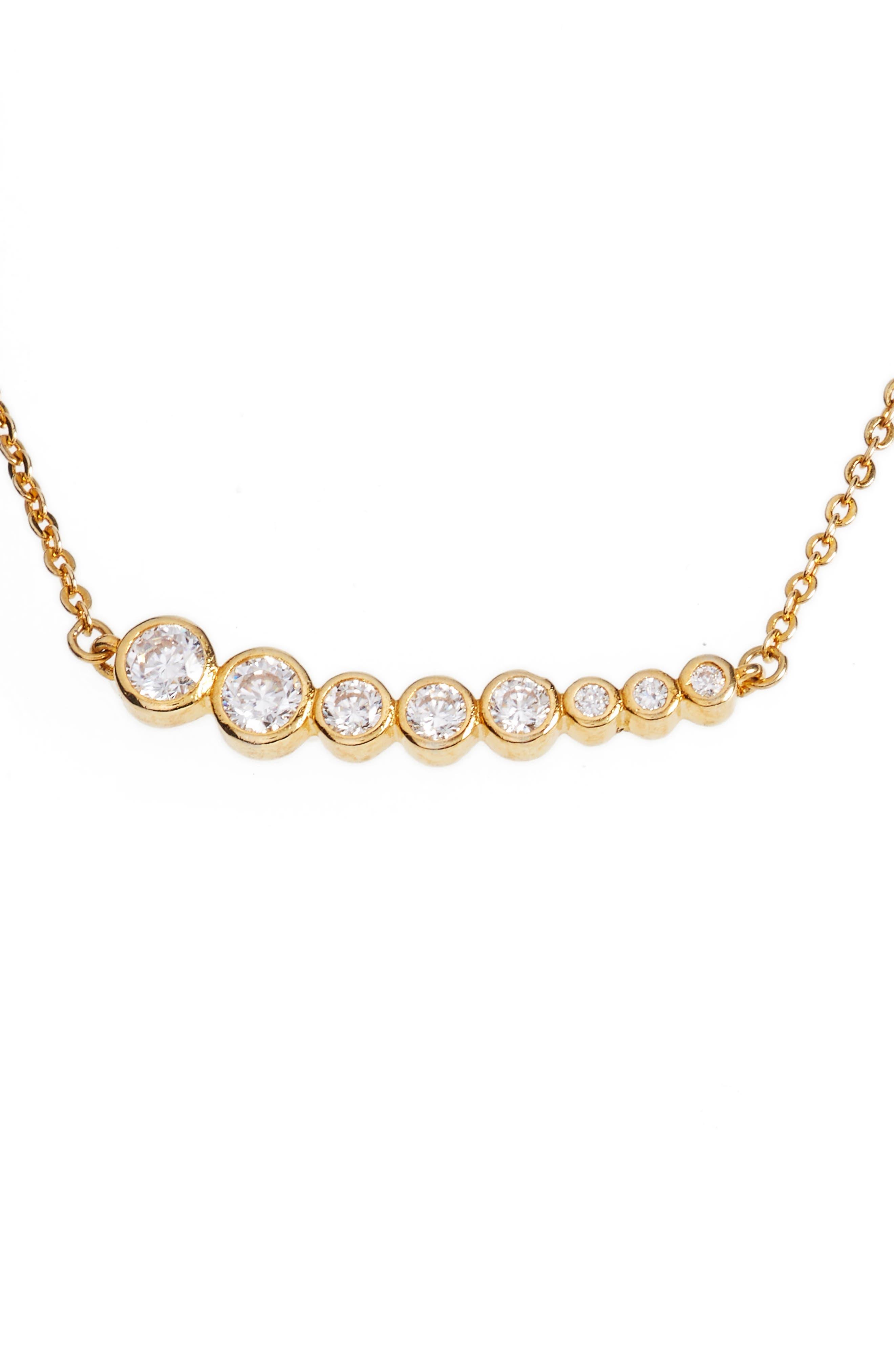 Julia Pendant Necklace,                         Main,                         color, Gold