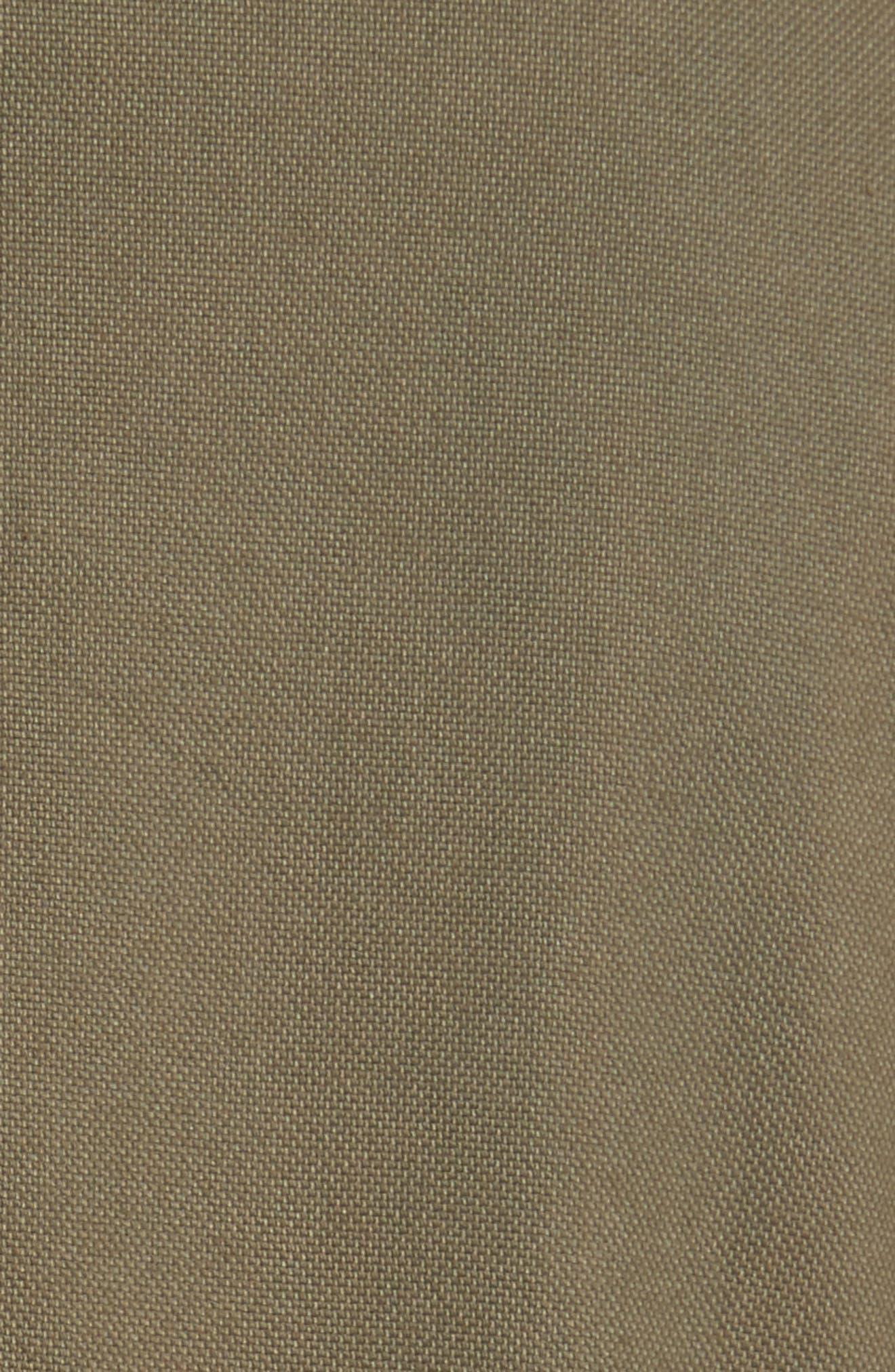 Everglade Peplum Jacket,                             Alternate thumbnail 5, color,                             Army Green