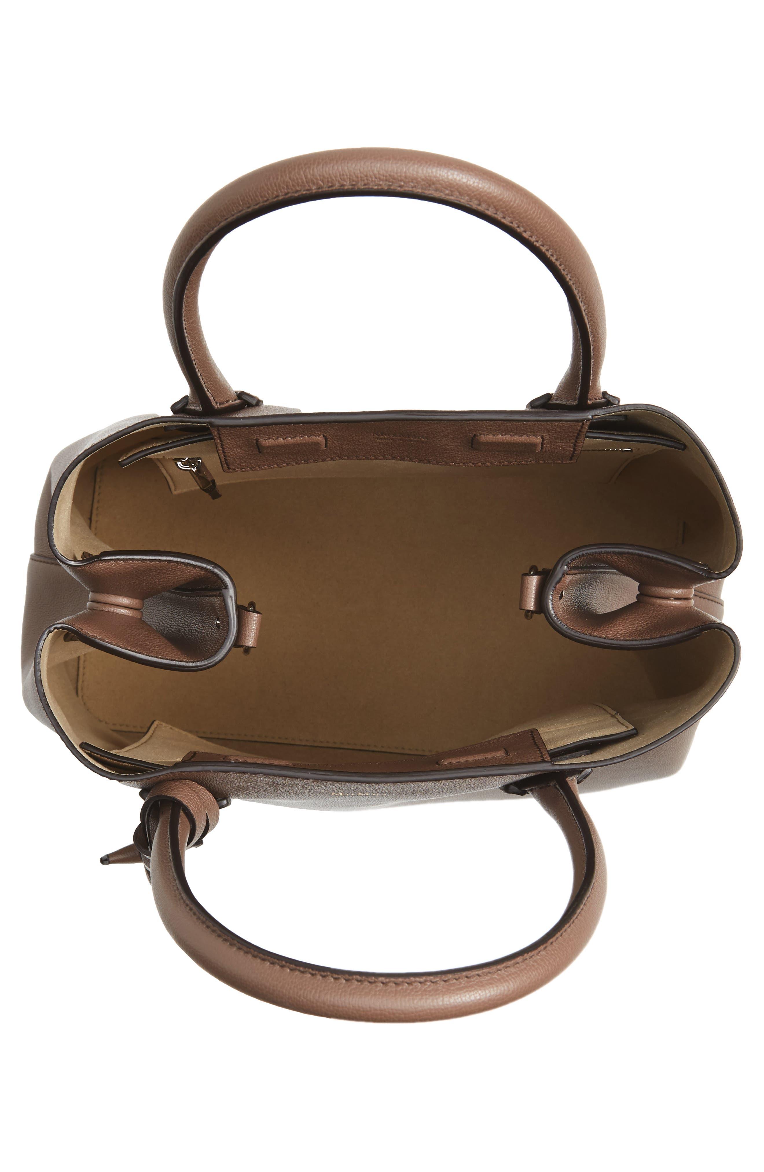 Alternate Image 3  - Max Mara Pebbled Leather Shopper