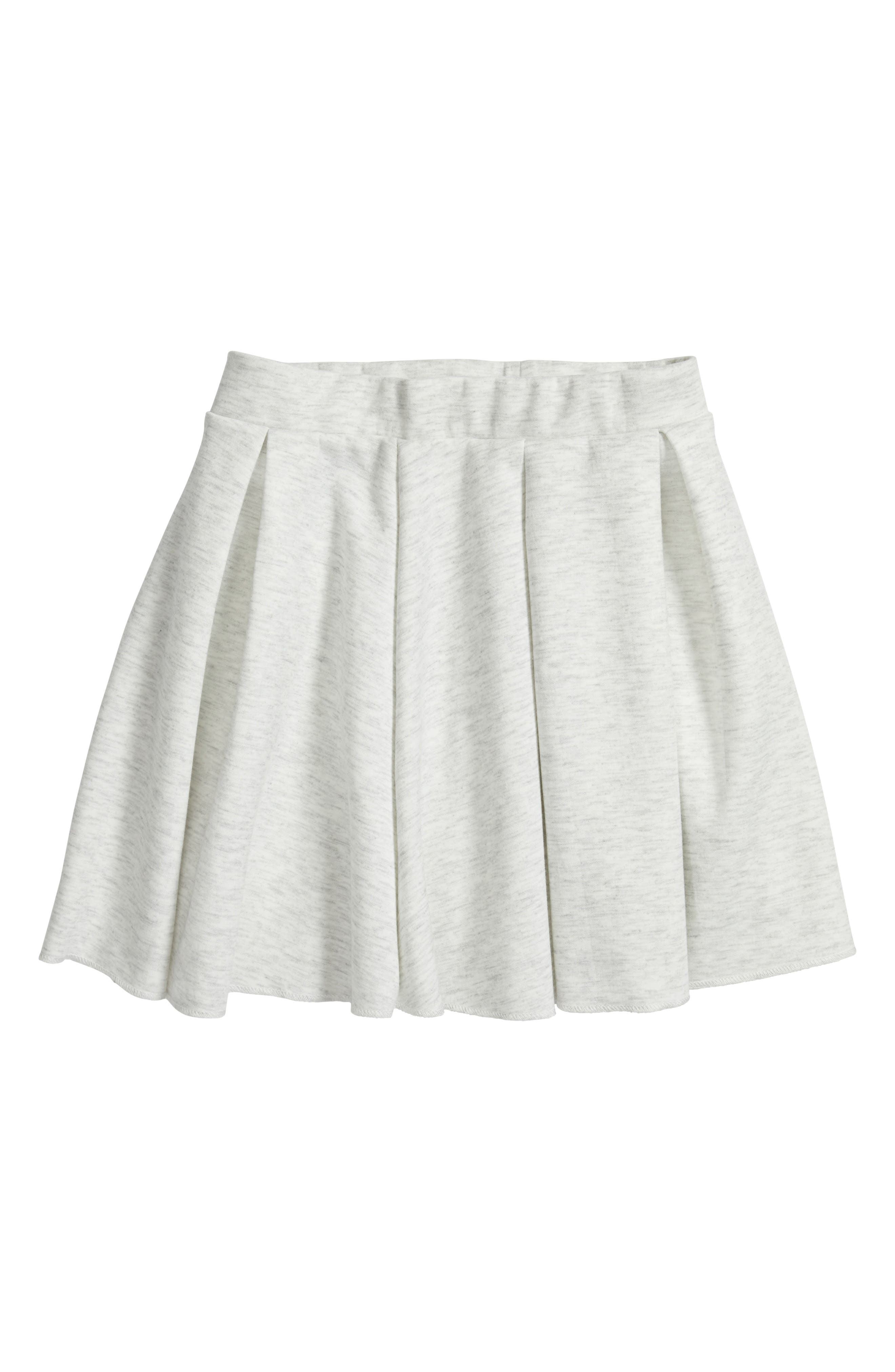 Tucker + Tate Pleated Scuba Skirt (Big Girls)