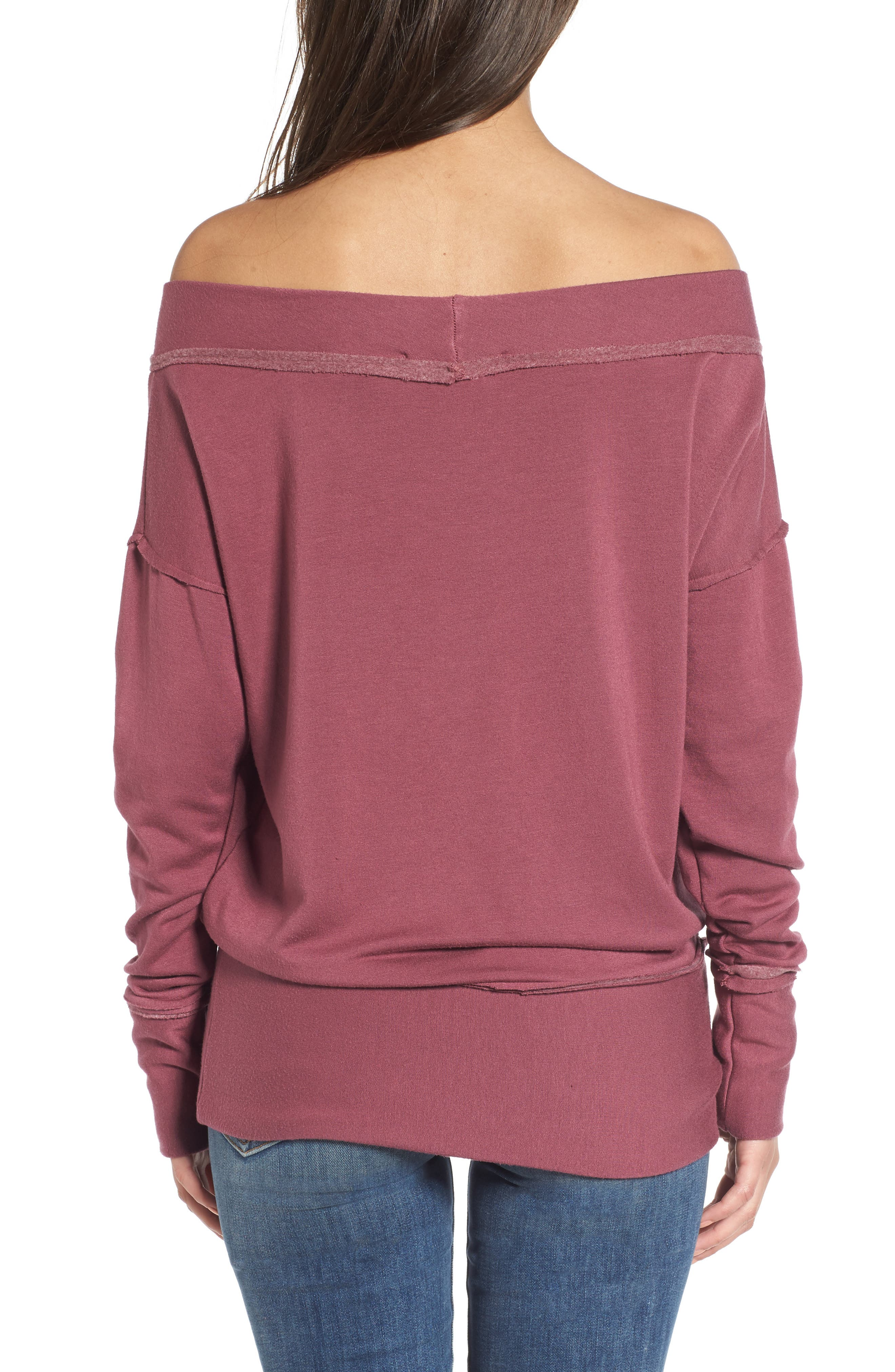Alternate Image 2  - Stateside Off the Shoulder Pullover
