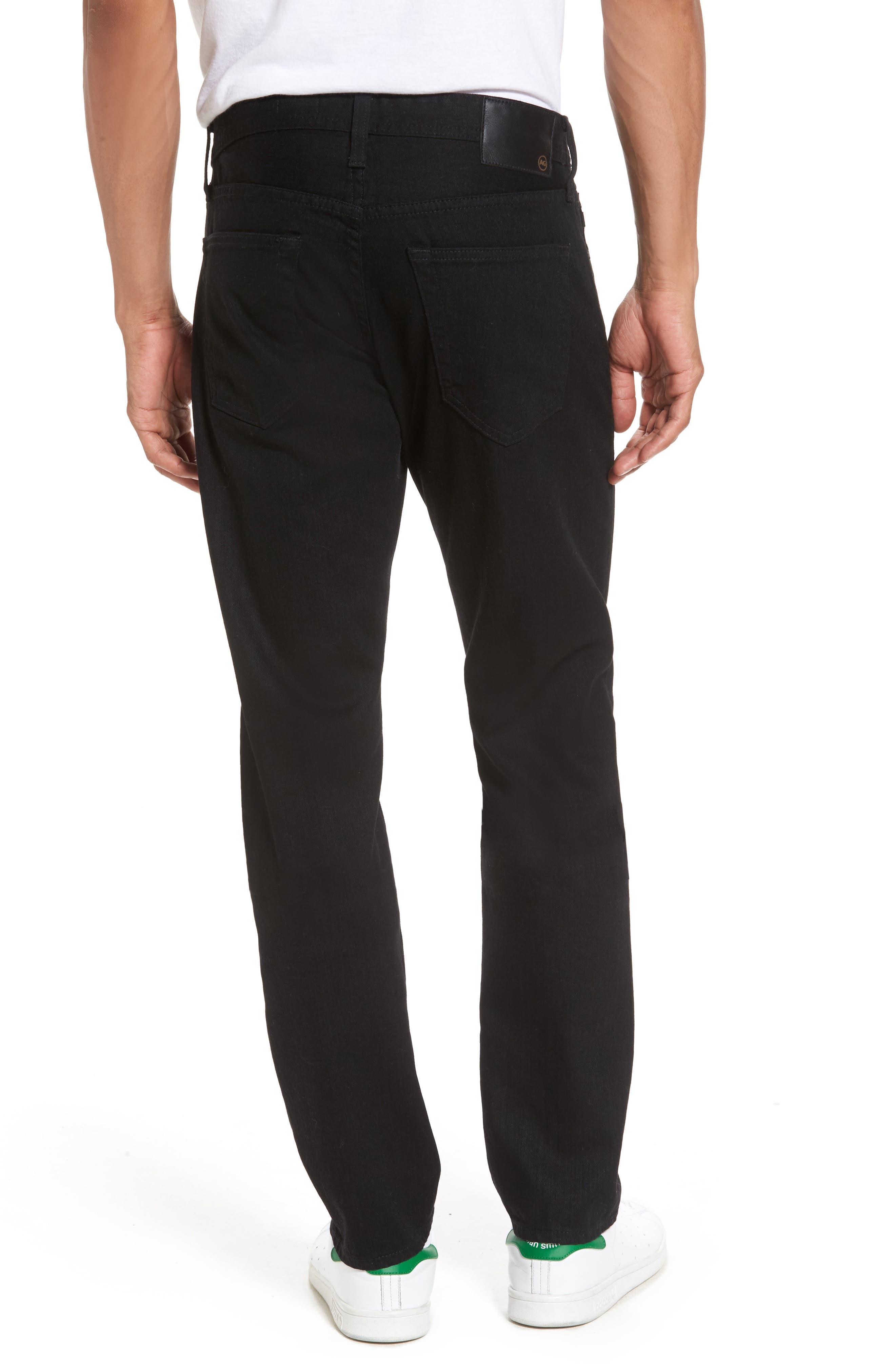 Alternate Image 2  - AG Tellis Slim Fit Jeans (Deep Pitch)