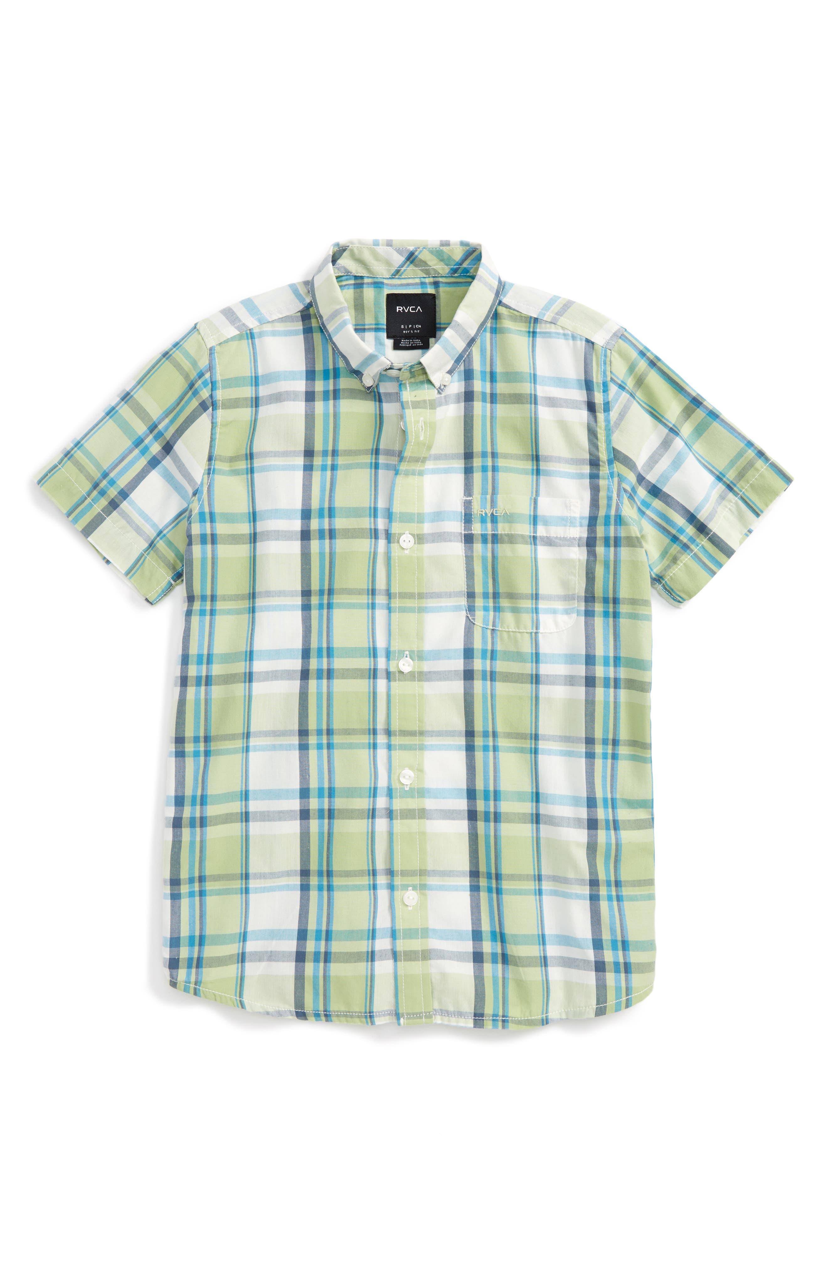 RVCA Stanek Plaid Shirt
