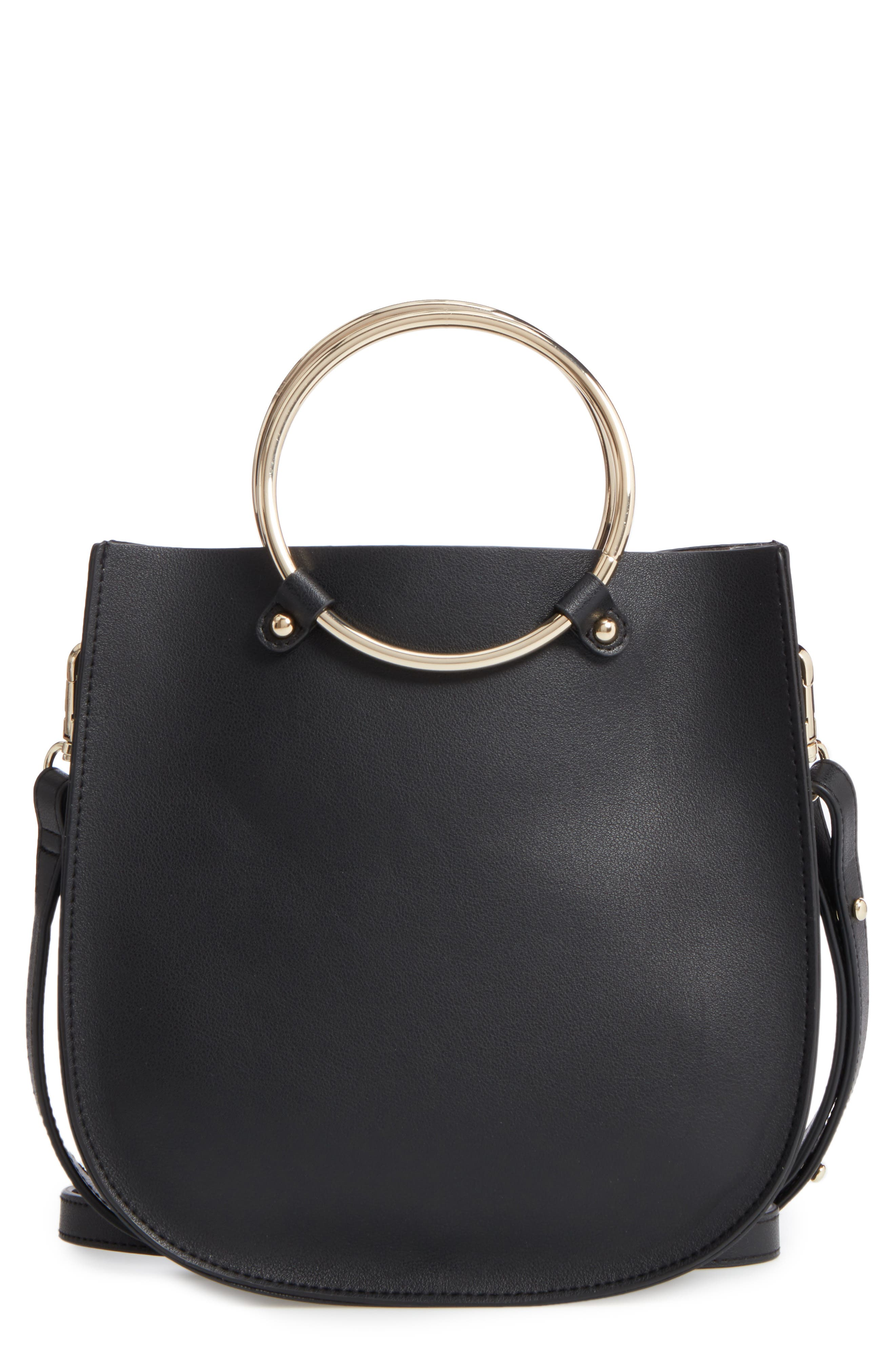 Alternate Image 1 Selected - BP. Metal Ring Crossbody Bag