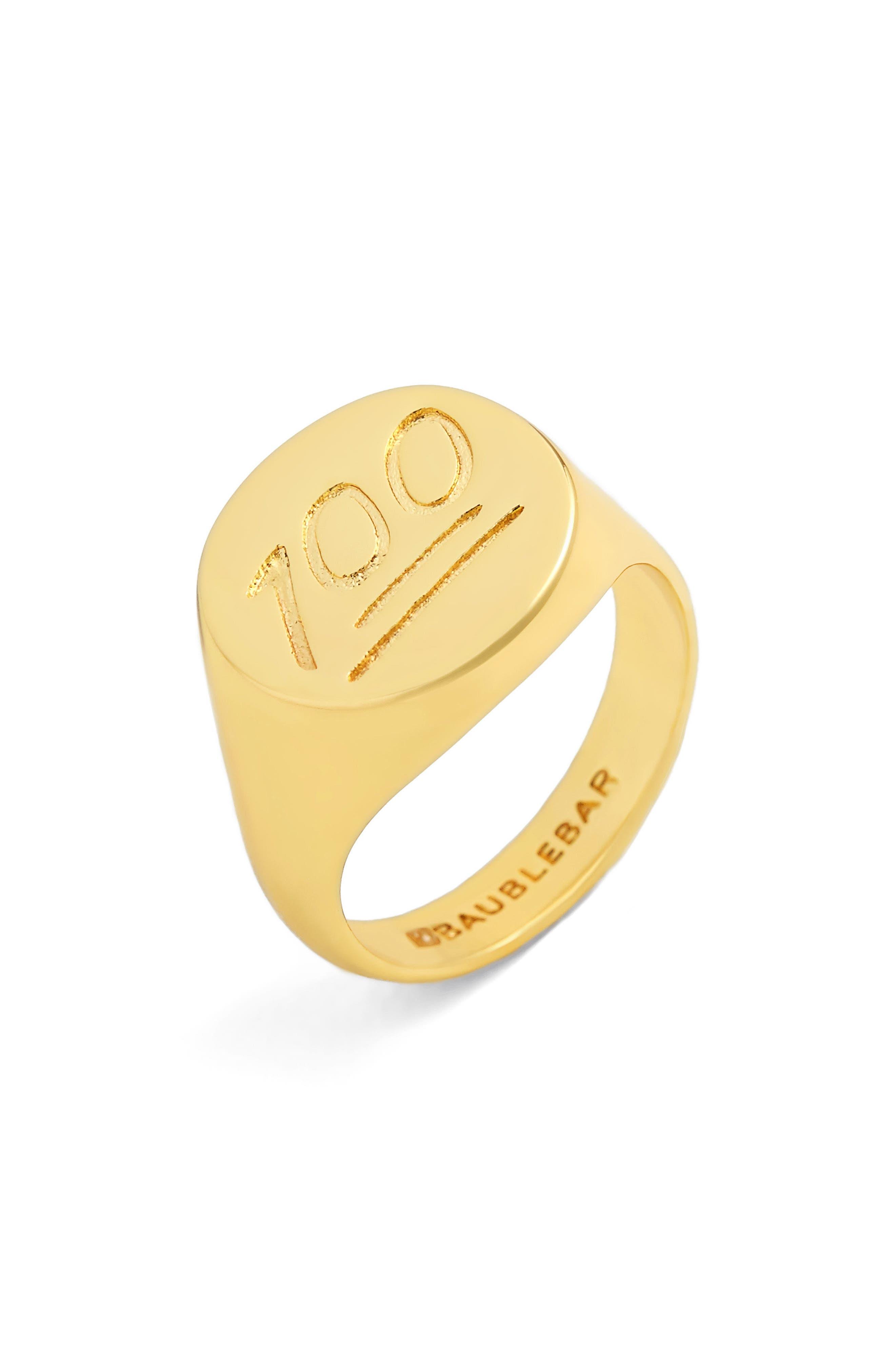 BaubleBar 100 Ring