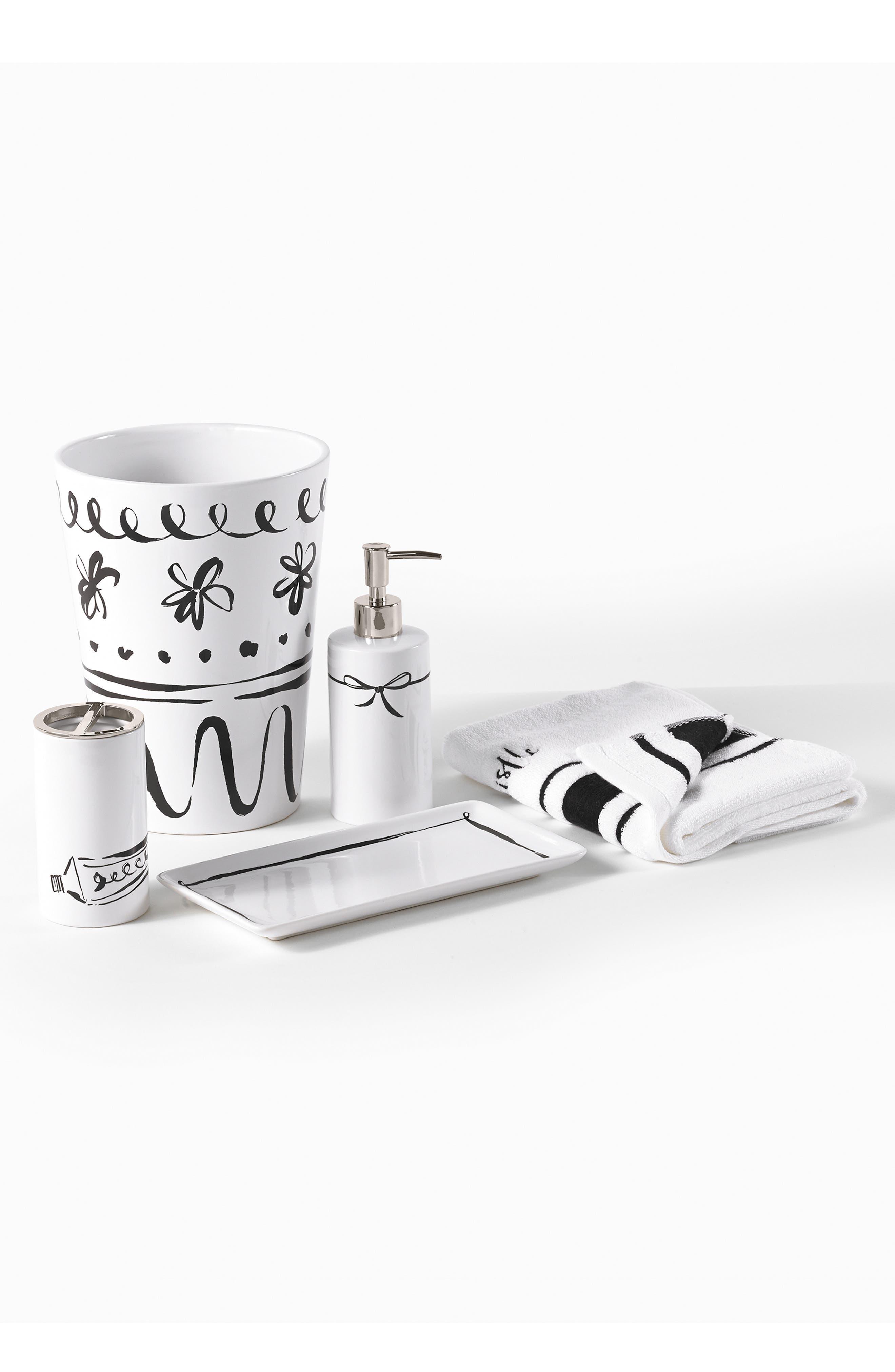 Alternate Image 2  - kate spade new york daisy place toothbrush holder