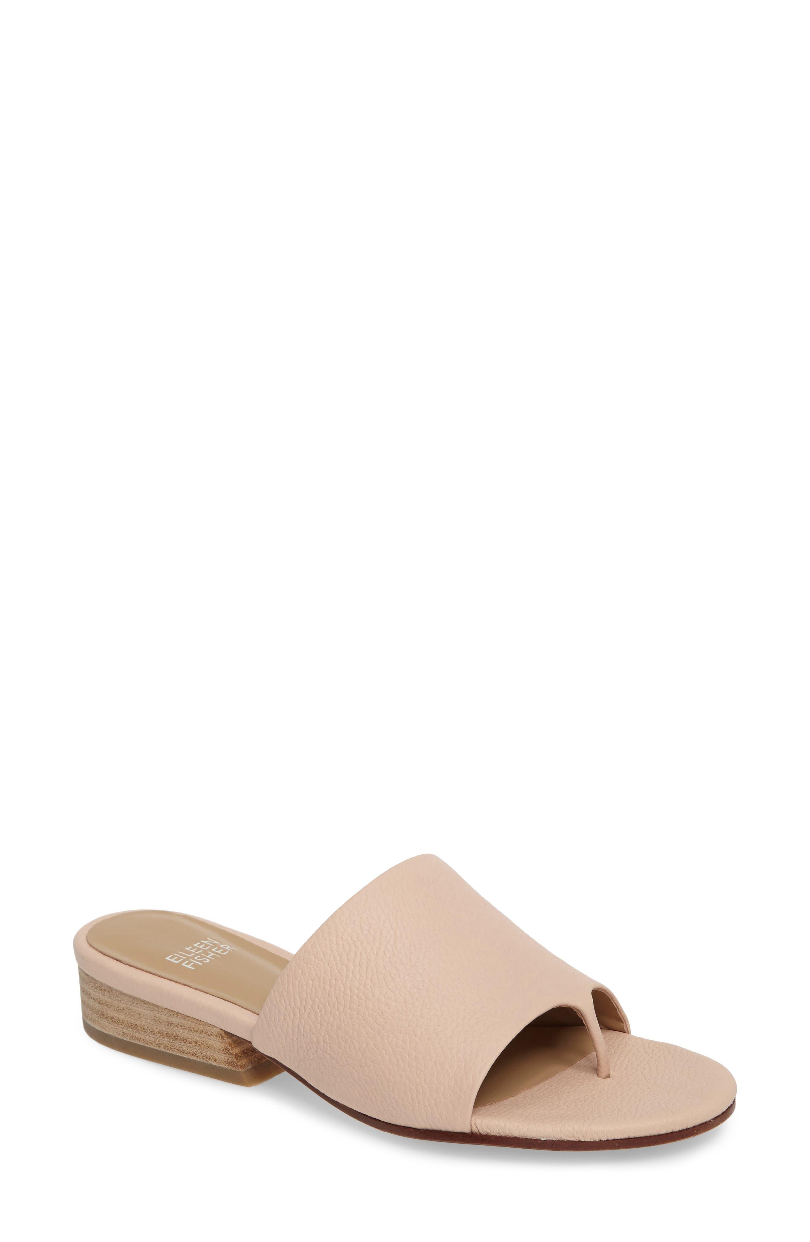 Alternate Image 1 Selected - Eileen Fisher Beal Slide Sandal (Women)