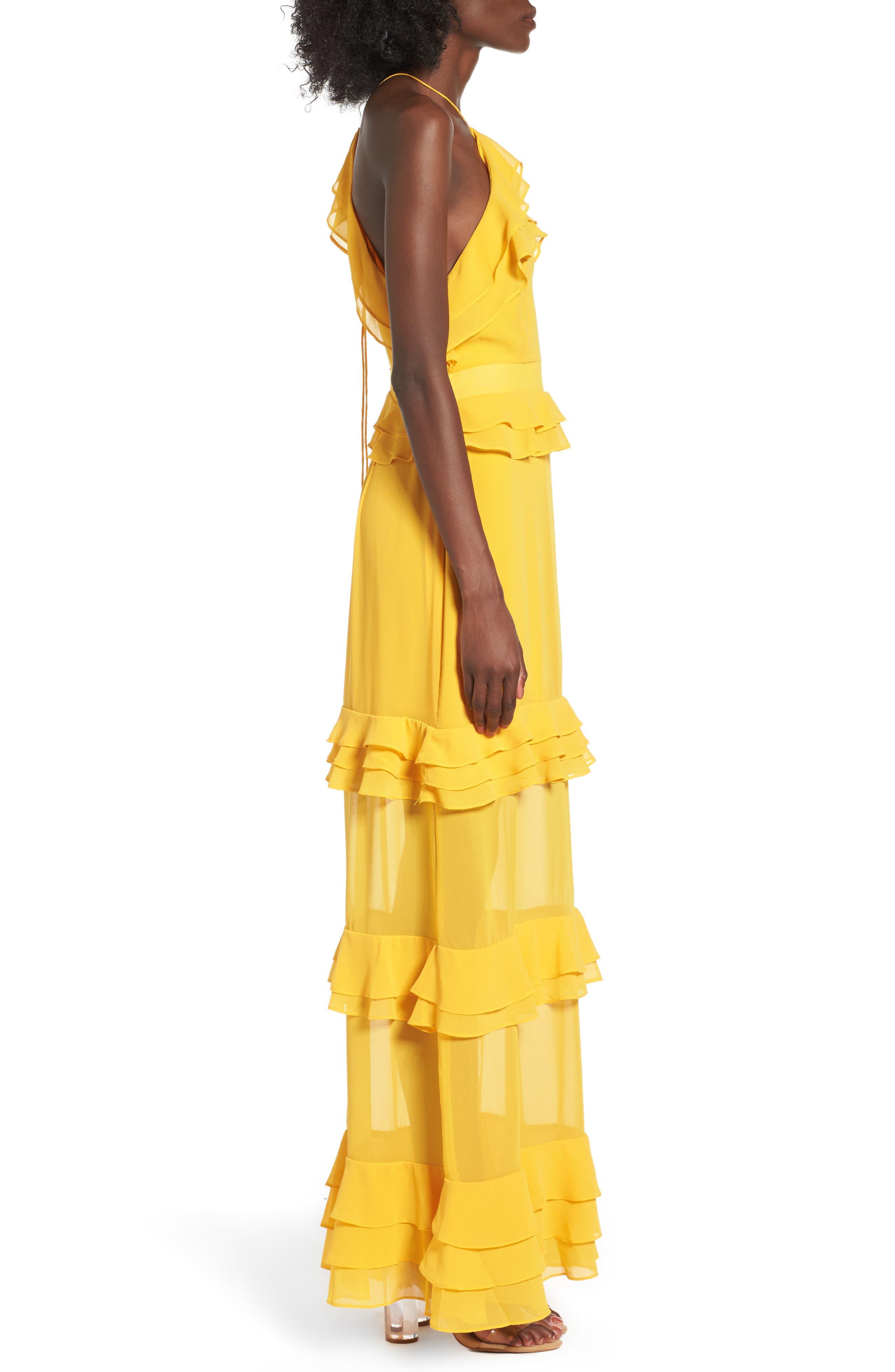 Alternate Image 3  - AFRM Violet Maxi Dress
