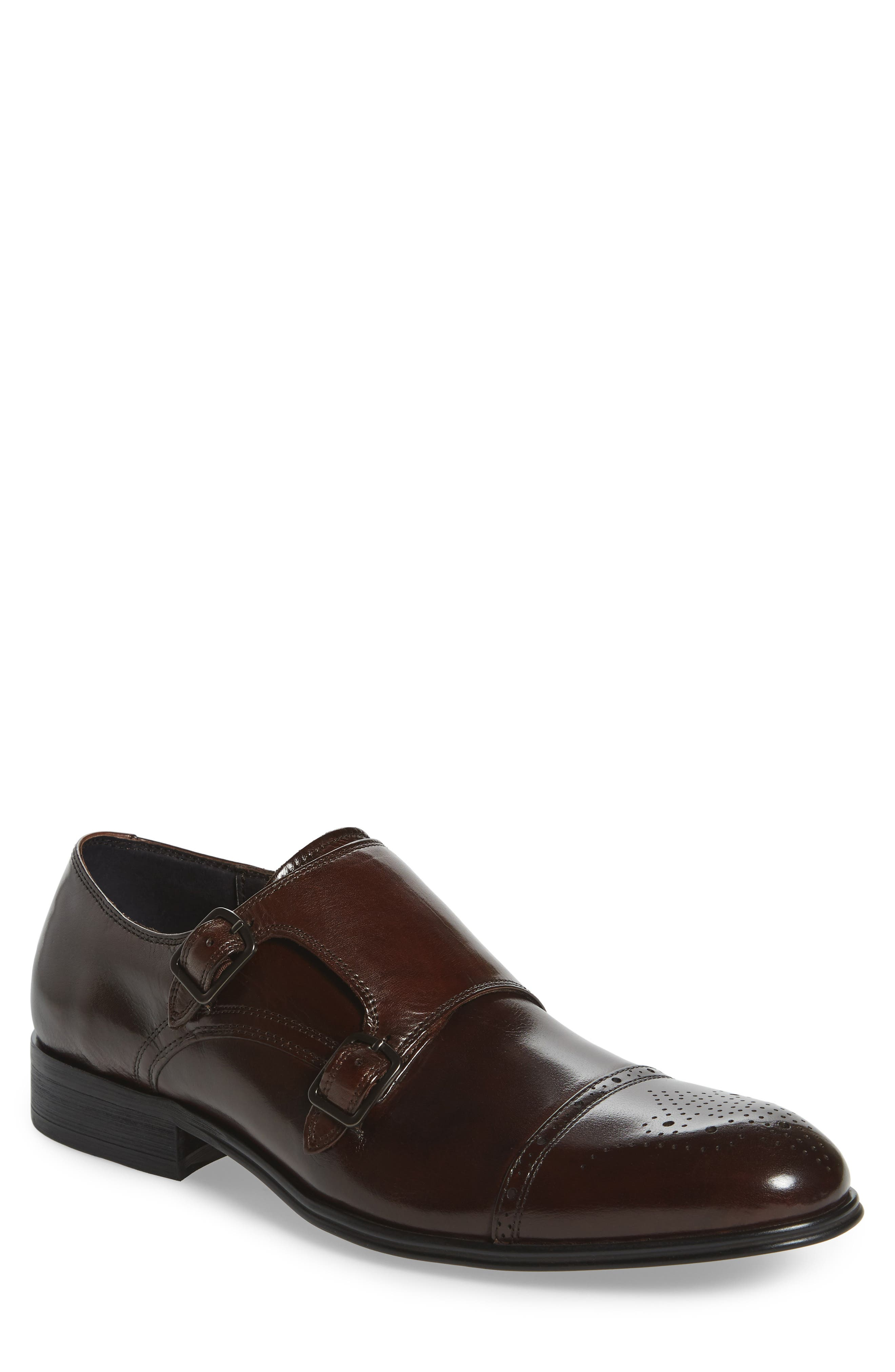 Kenneth Cole New York Cap Toe Monk Shoe (Men)