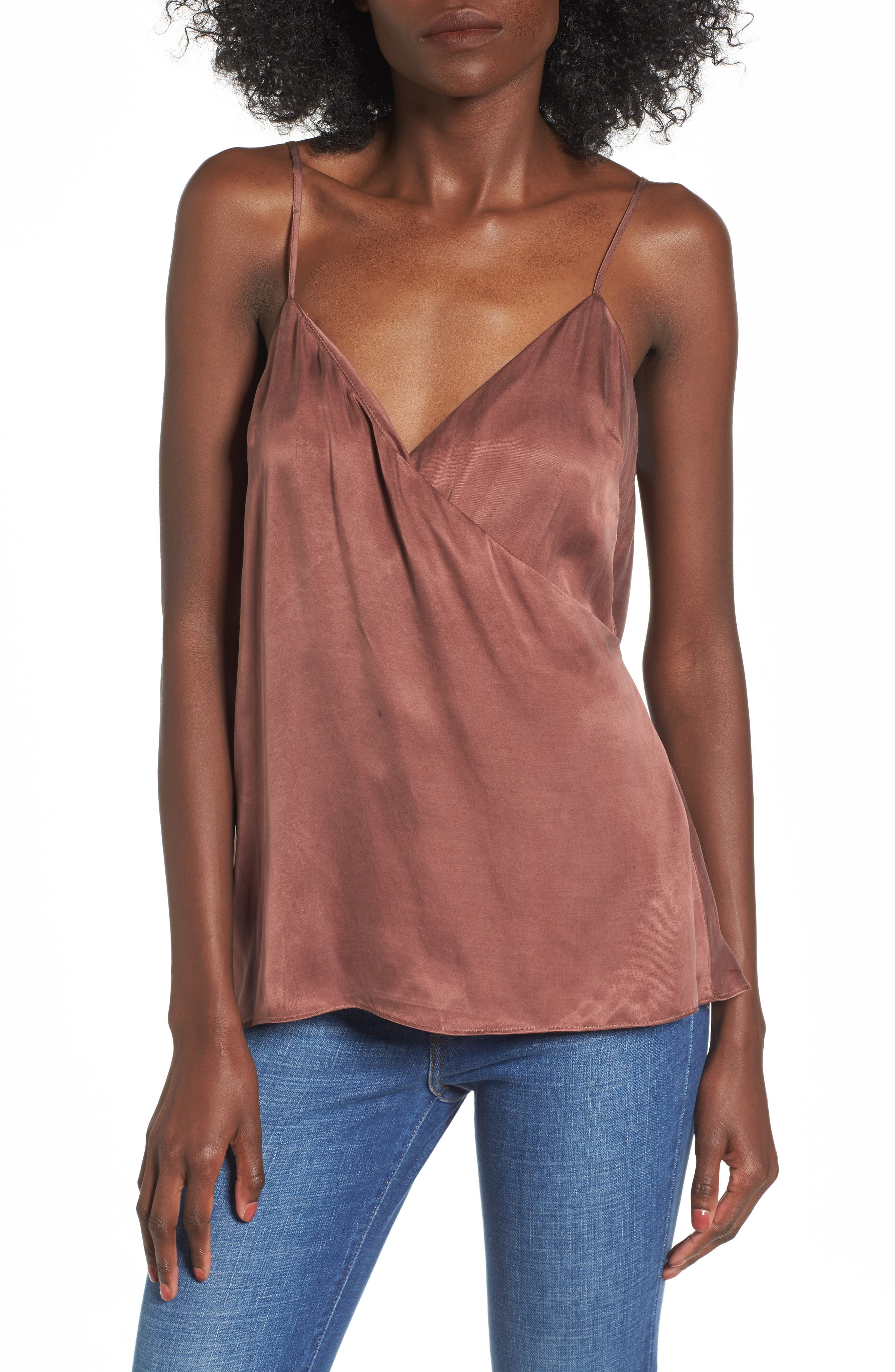Alternate Image 1 Selected - NBD Monica Drape Back Camisole