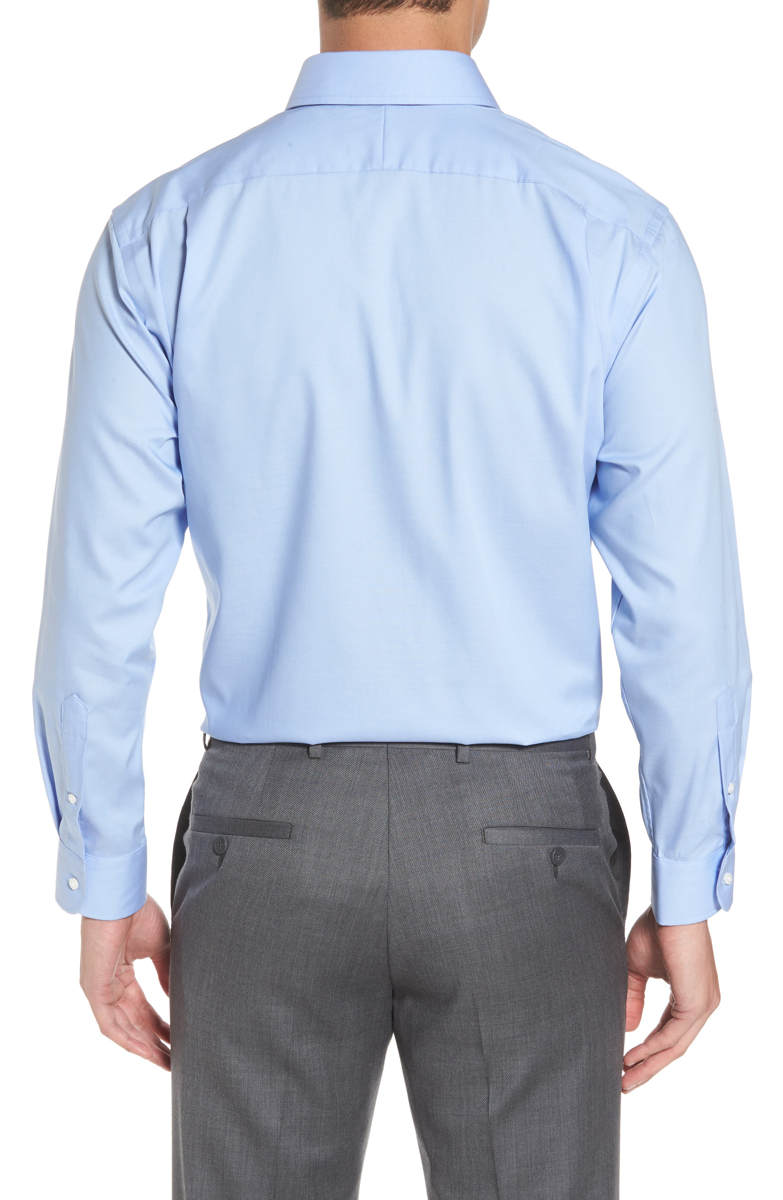 Alternate Image 3  - Nordstrom Men's Shop Traditional Fit Non-Iron Solid Dress Shirt