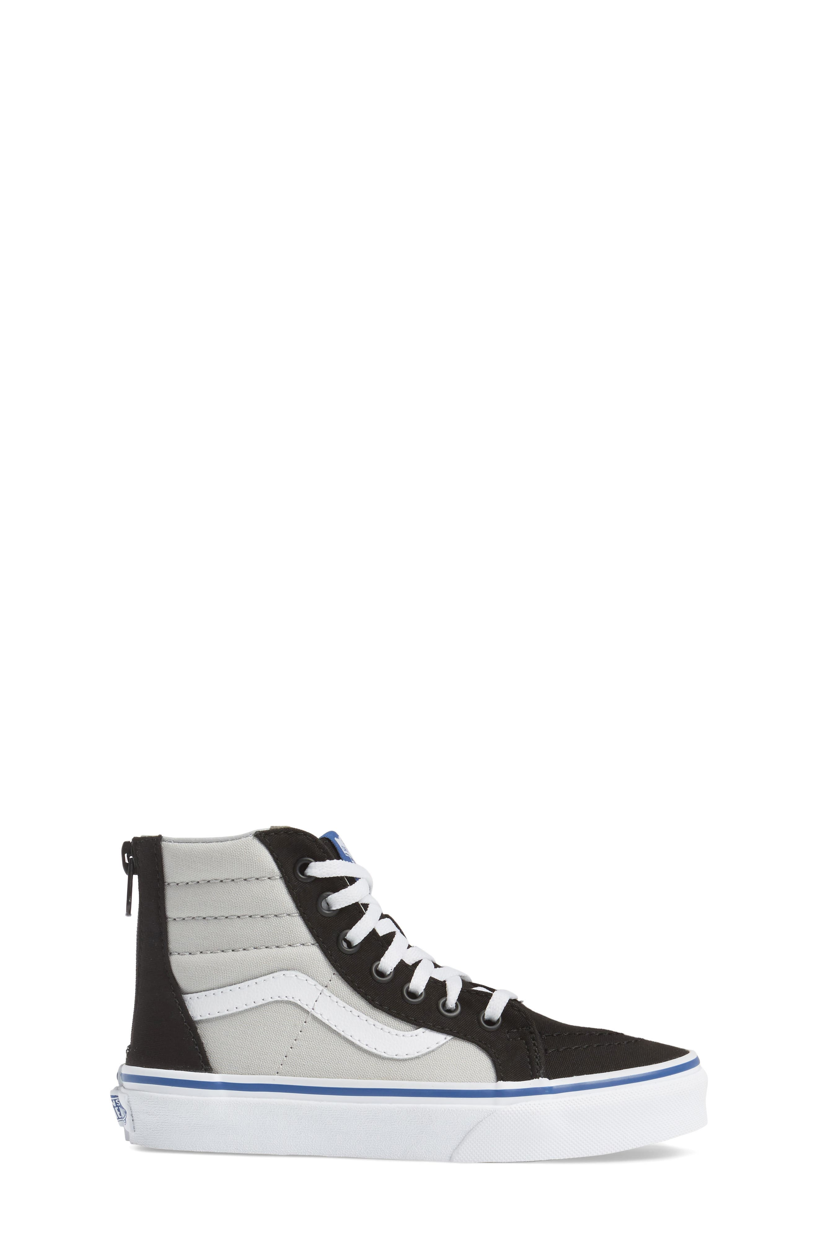 Alternate Image 3  - Vans SK8-Hi Zip Sneaker (Baby, Walker, Toddler, Little Kid & Big Kid)