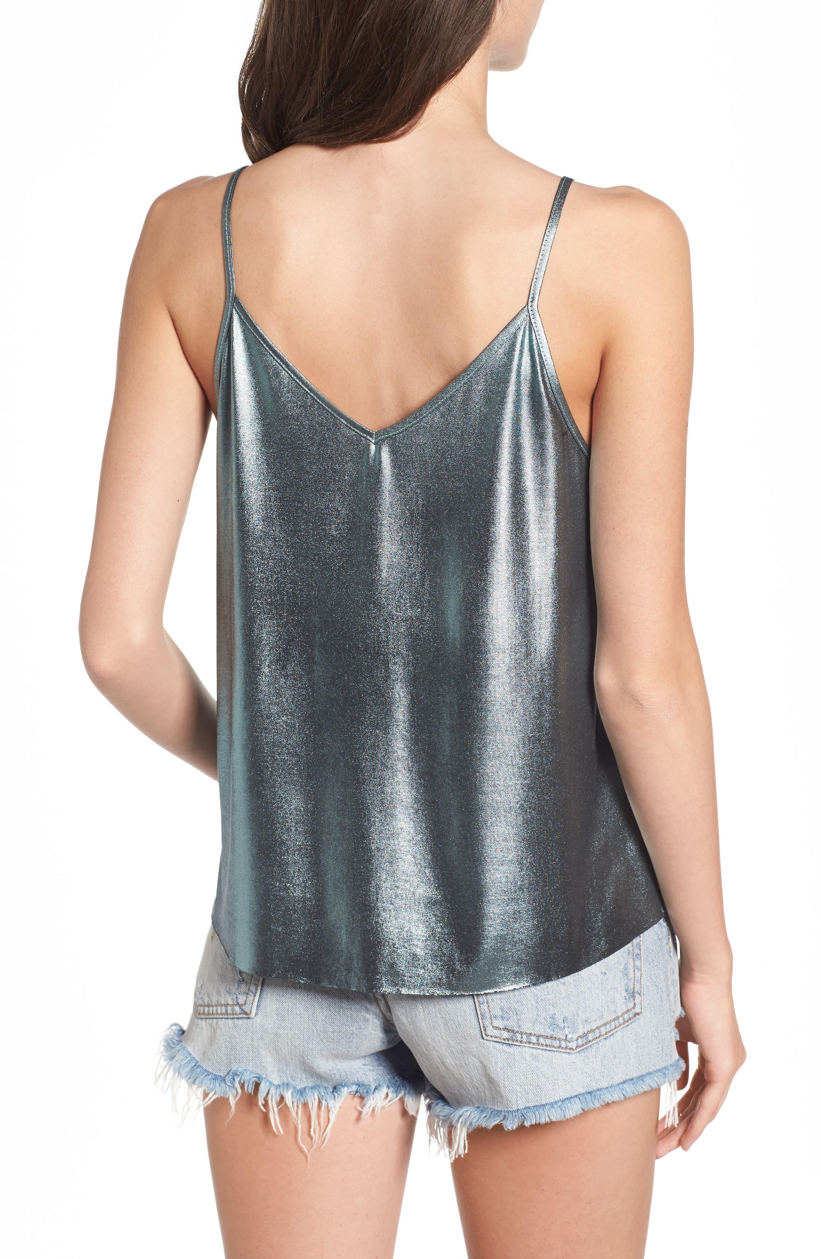 Alternate Image 2  - Elodie Metallic Camisole