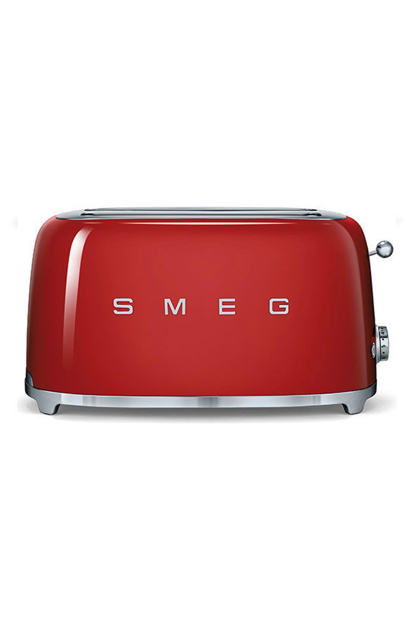 smeg 50s Retro Style Four-Slice Toaster