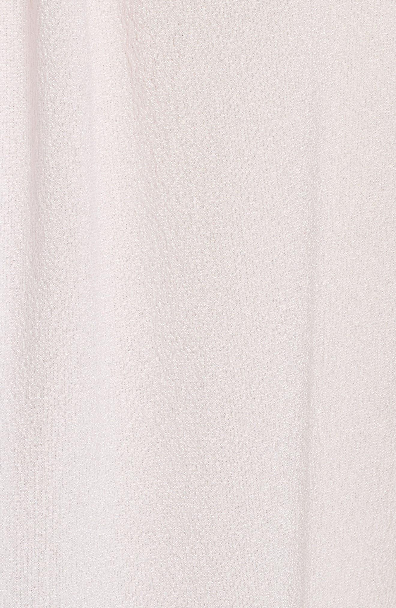 Alternate Image 5  - Rebecca Taylor Ruffle Neck Silk Top