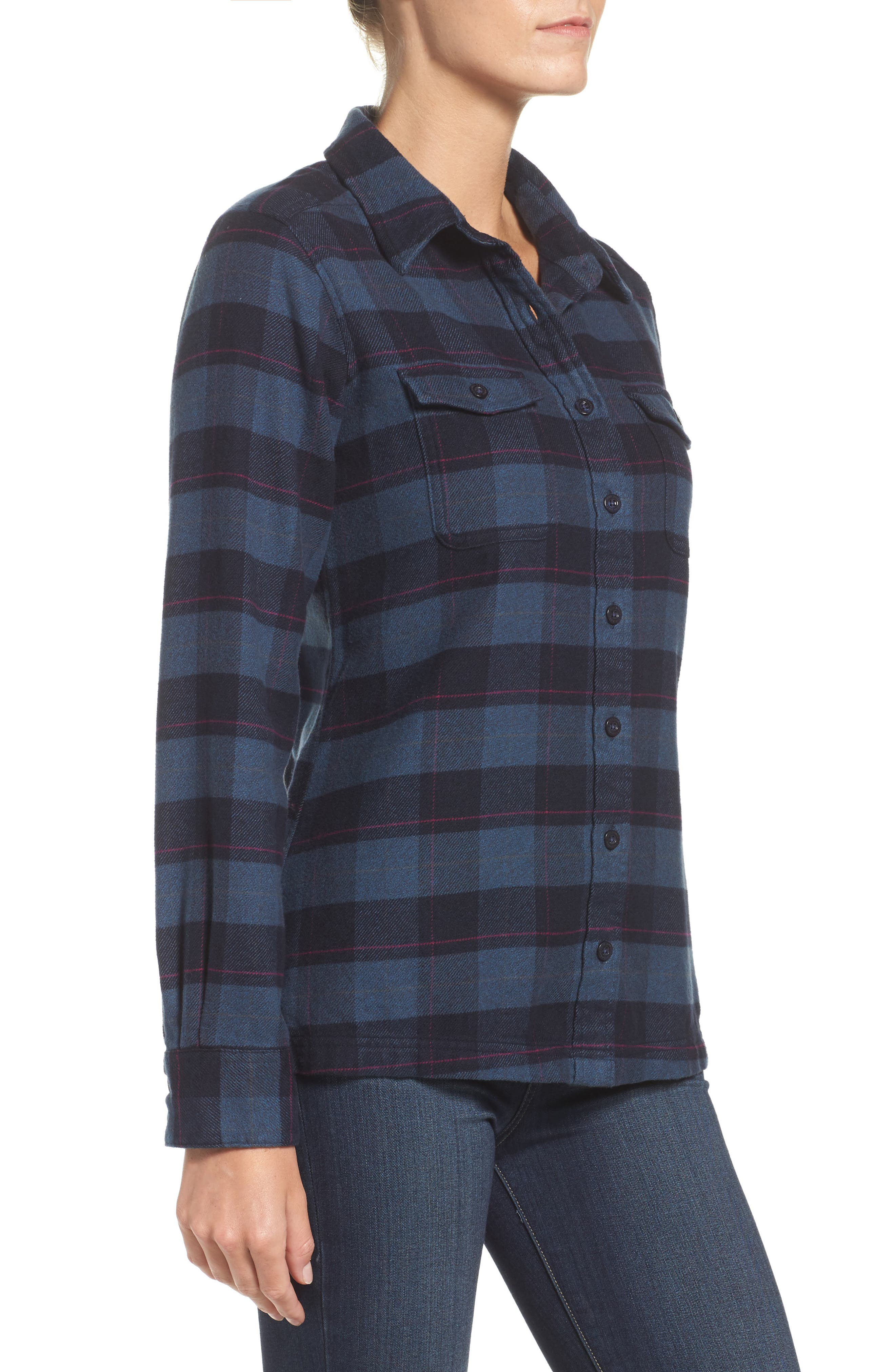 Alternate Image 4  - Patagonia 'Fjord' Flannel Shirt