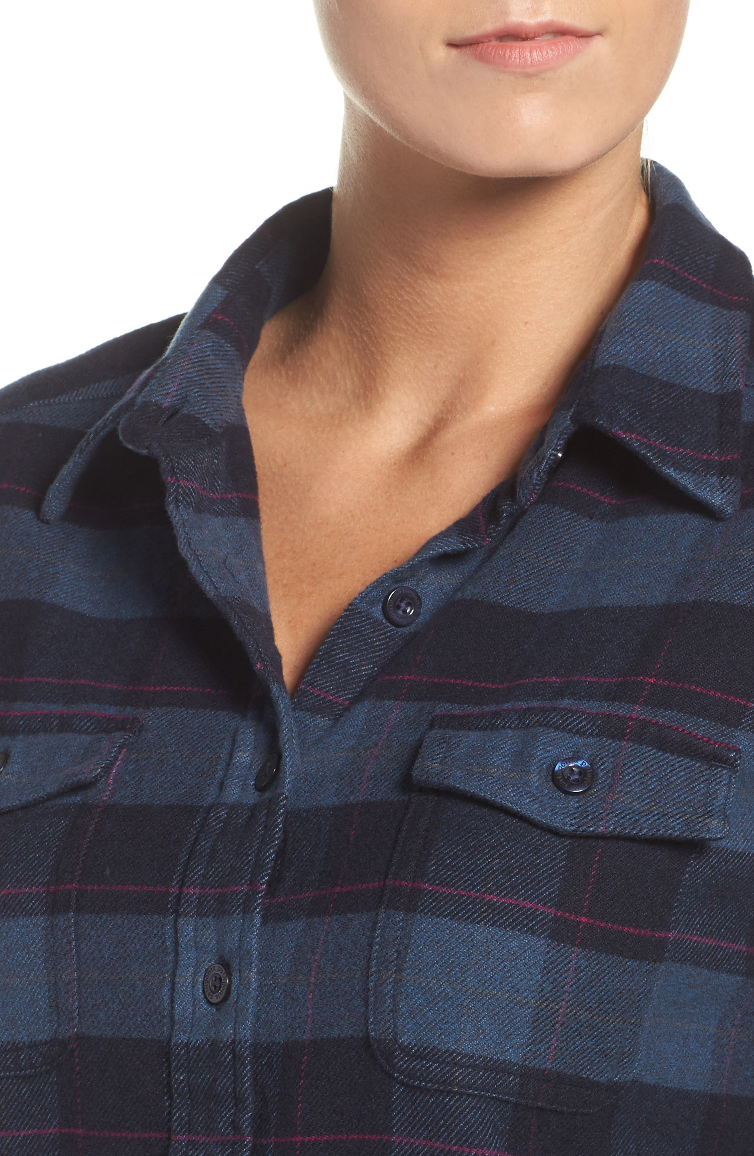 Alternate Image 5  - Patagonia 'Fjord' Flannel Shirt