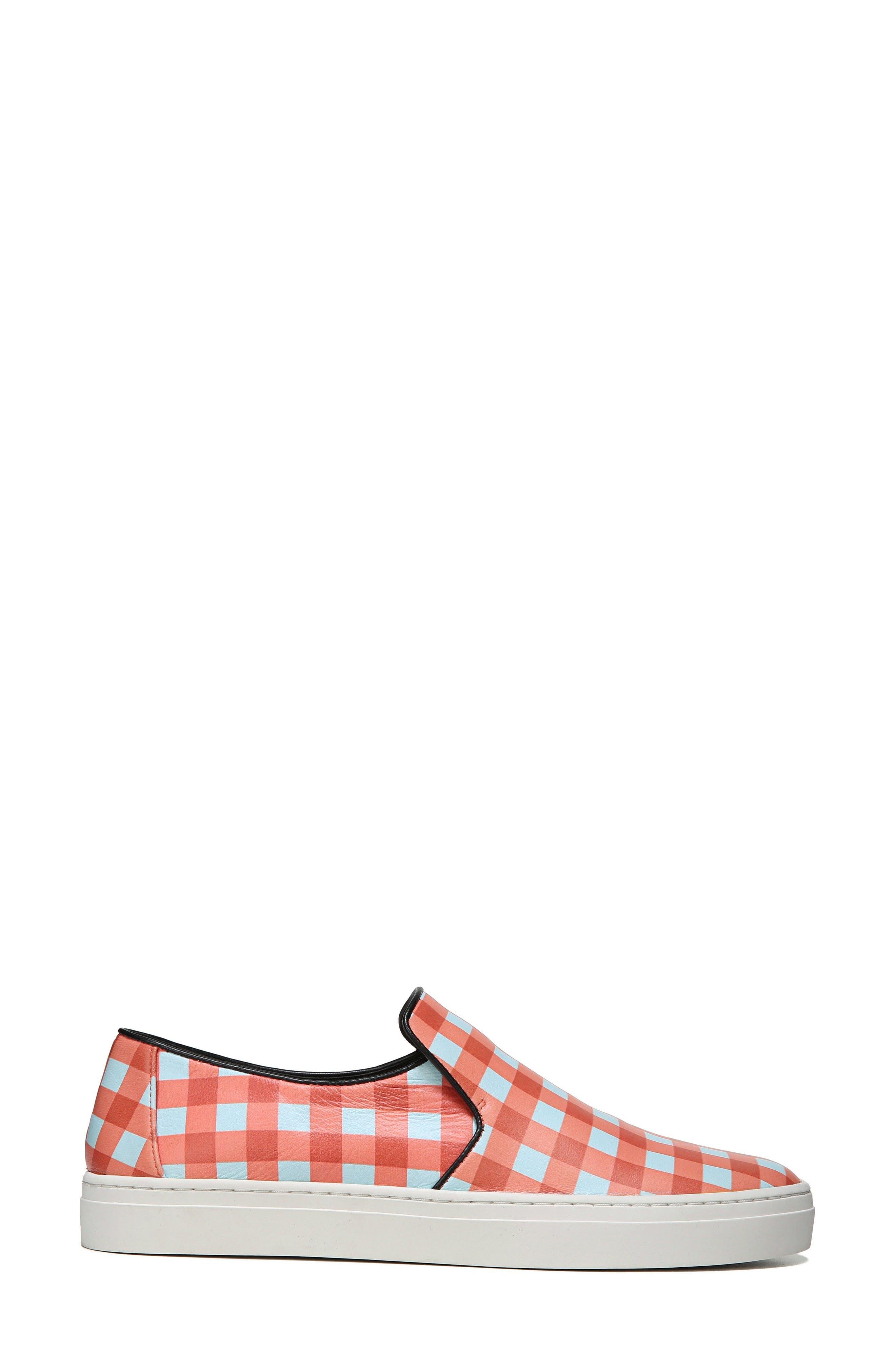 Budapest Slip-On Sneaker,                             Alternate thumbnail 3, color,                             Bold Red/ Black