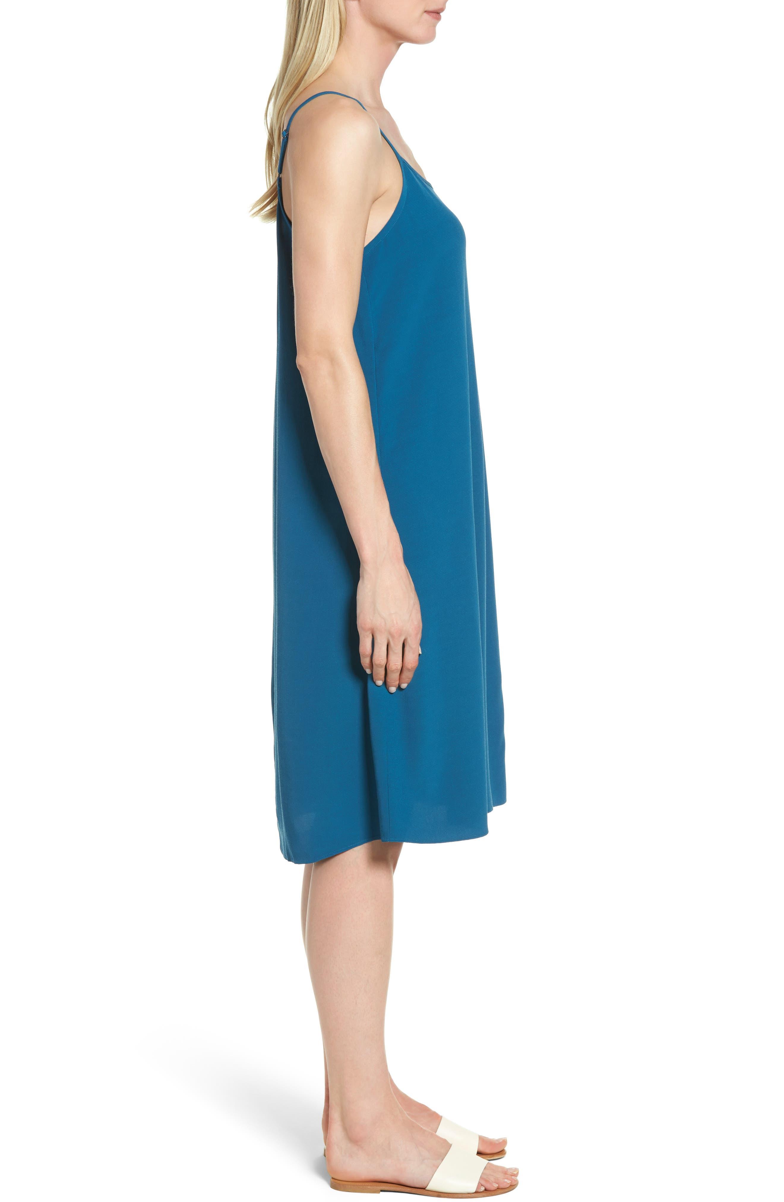 Alternate Image 3  - Eileen Fisher Midi Slipdress (Regular & Petite)