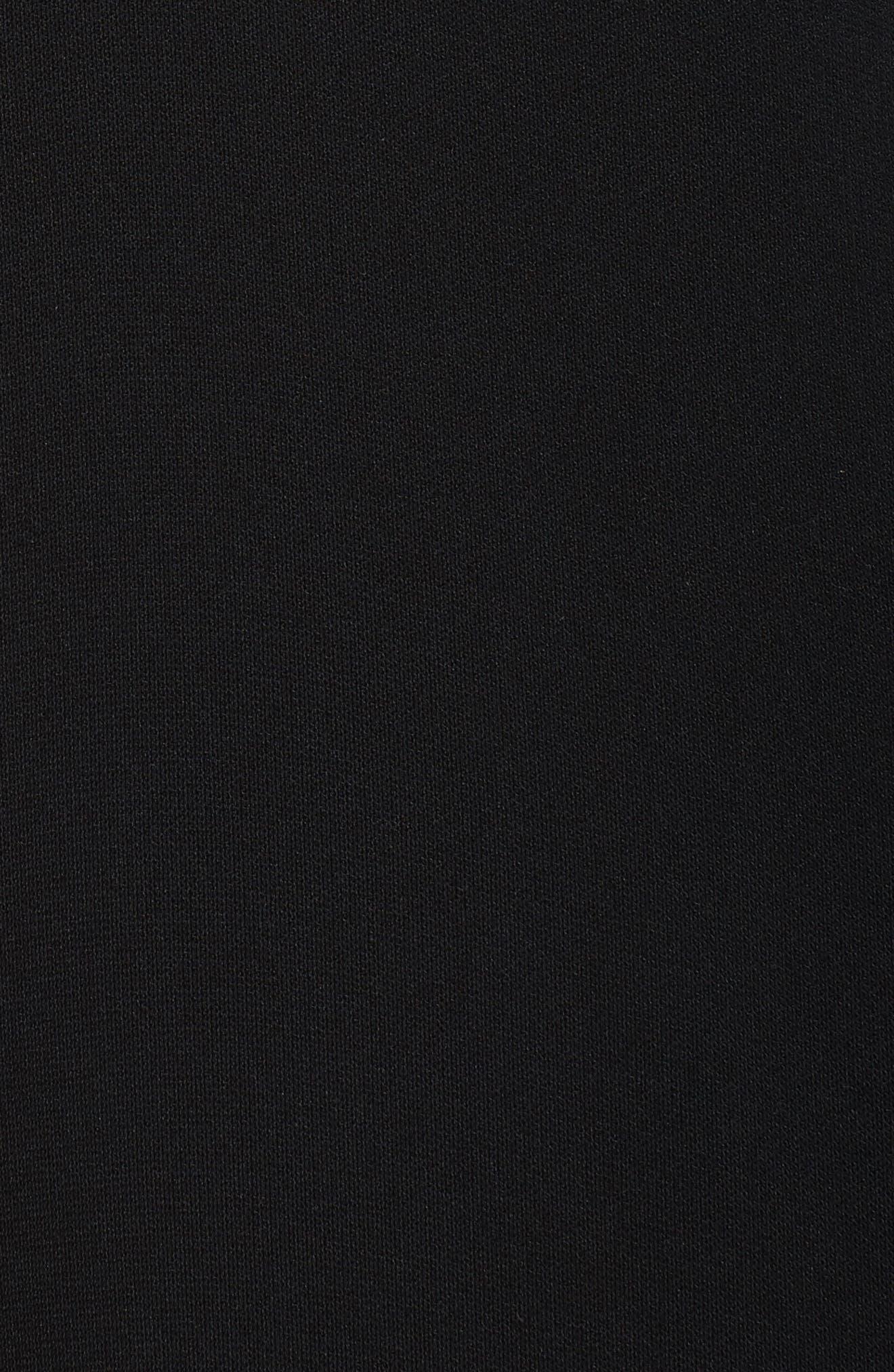 Cold Shoulder Halter Jumpsuit,                             Alternate thumbnail 5, color,                             Black