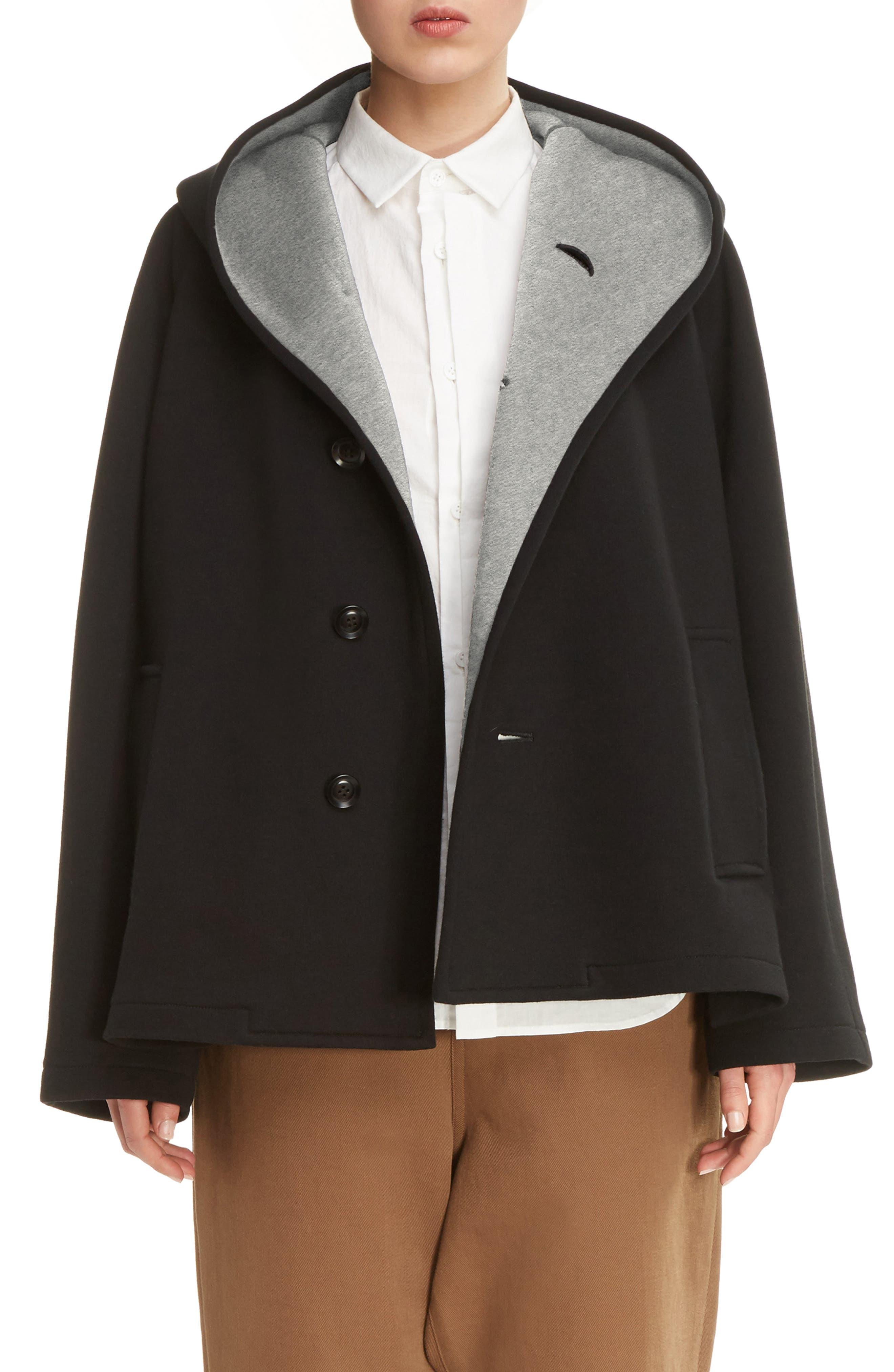 Alternate Image 1 Selected - Y's by Yohji Yamamoto U-Hood Short Jacket