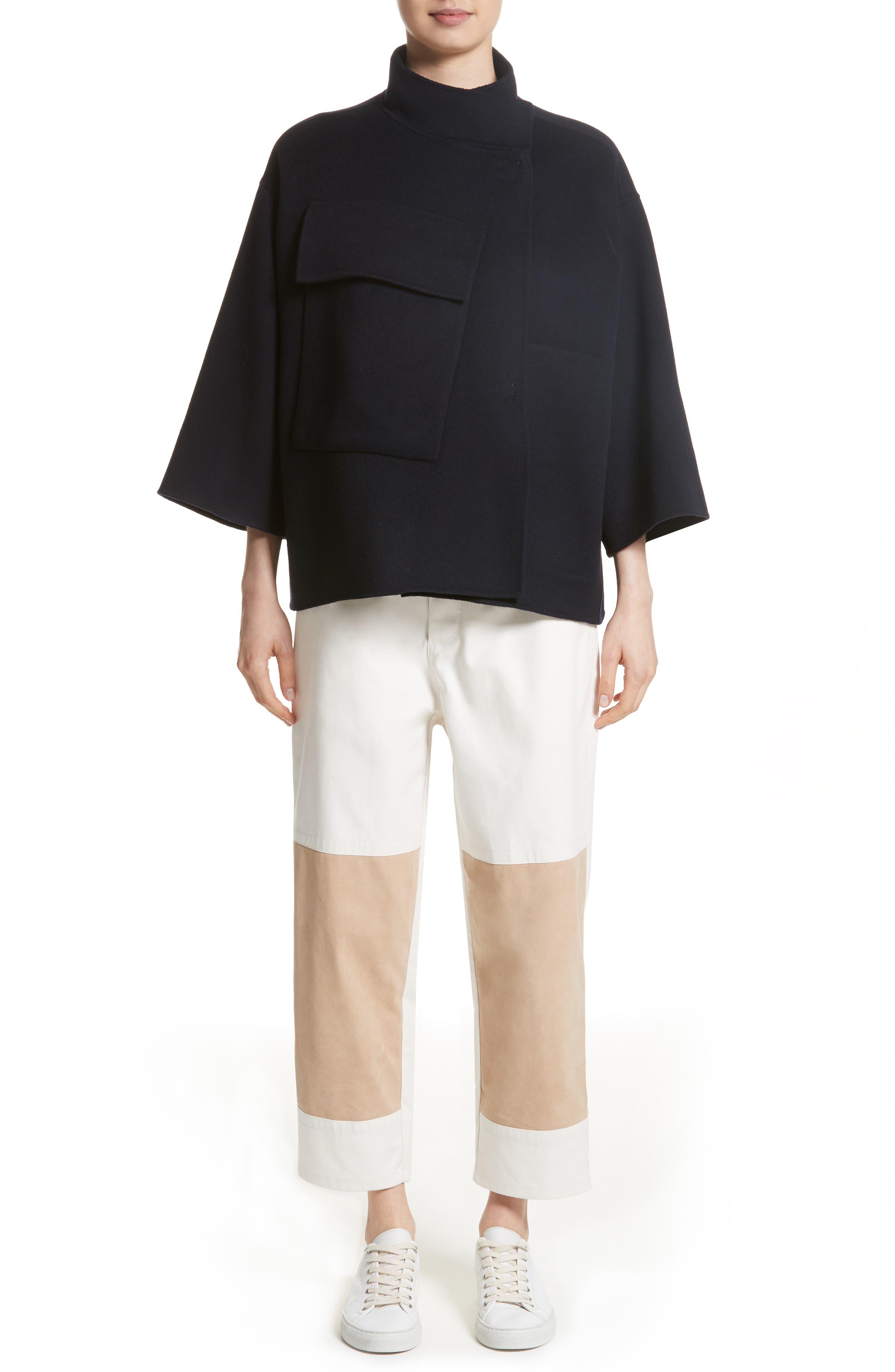 Alternate Image 7  - Sofie D'Hoore Crop Wool & Cashmere Jacket
