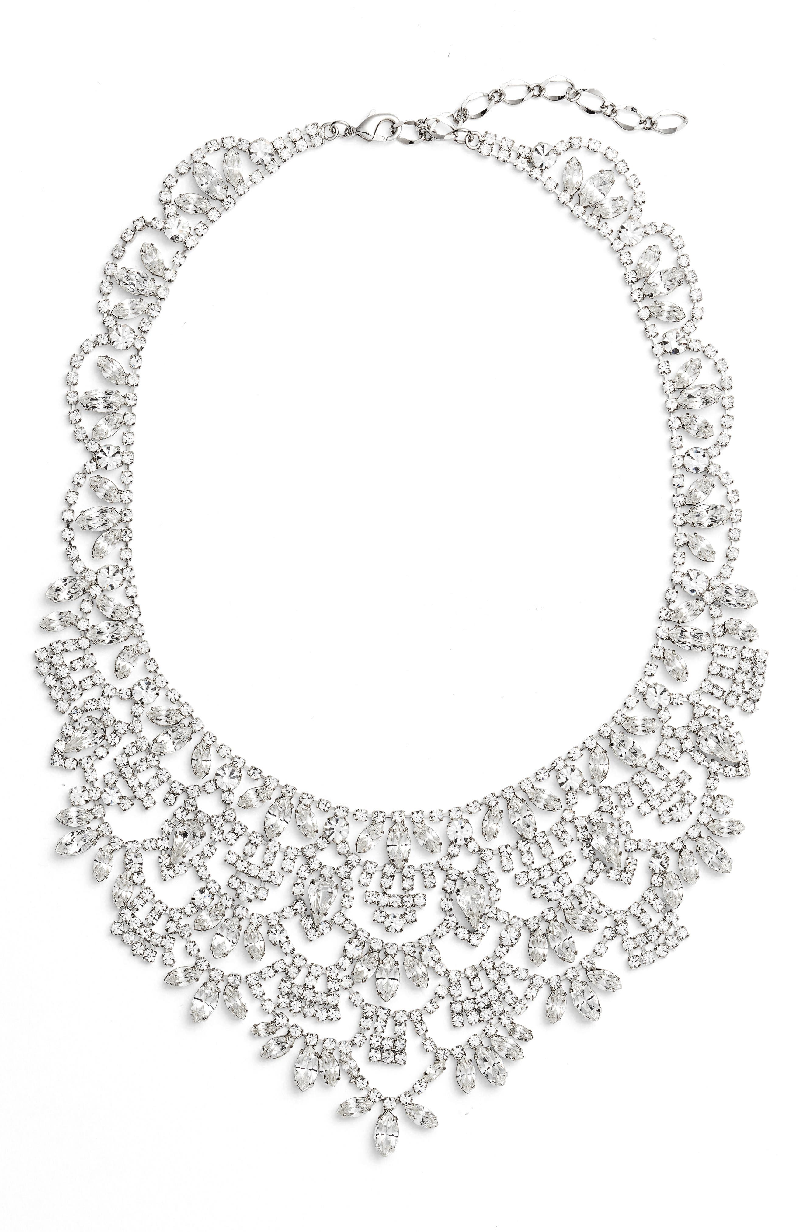 CRISTABELLE Crystal Bib Necklace