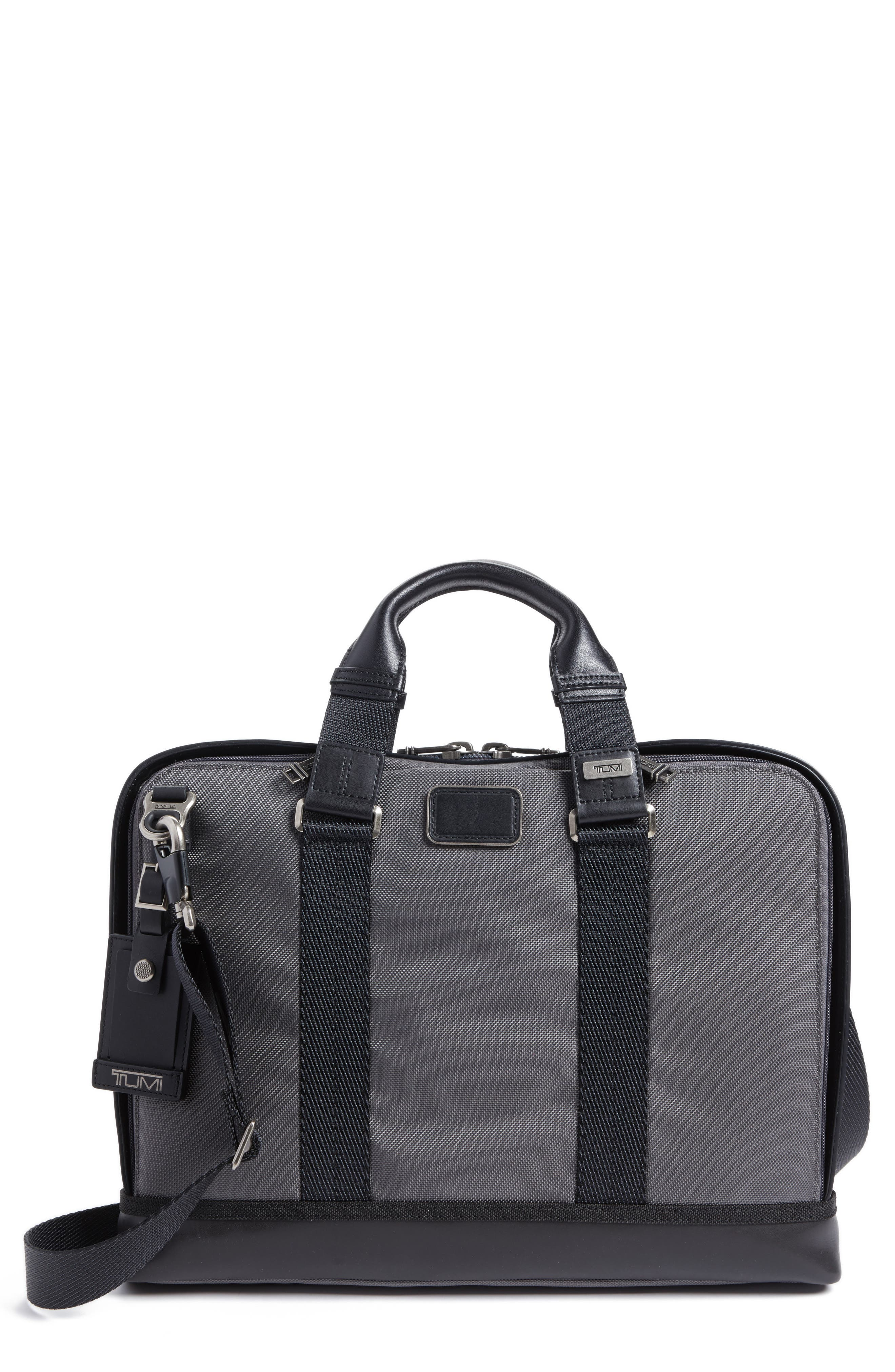 TUMI Alpha Bravo Andrews Slim Briefcase