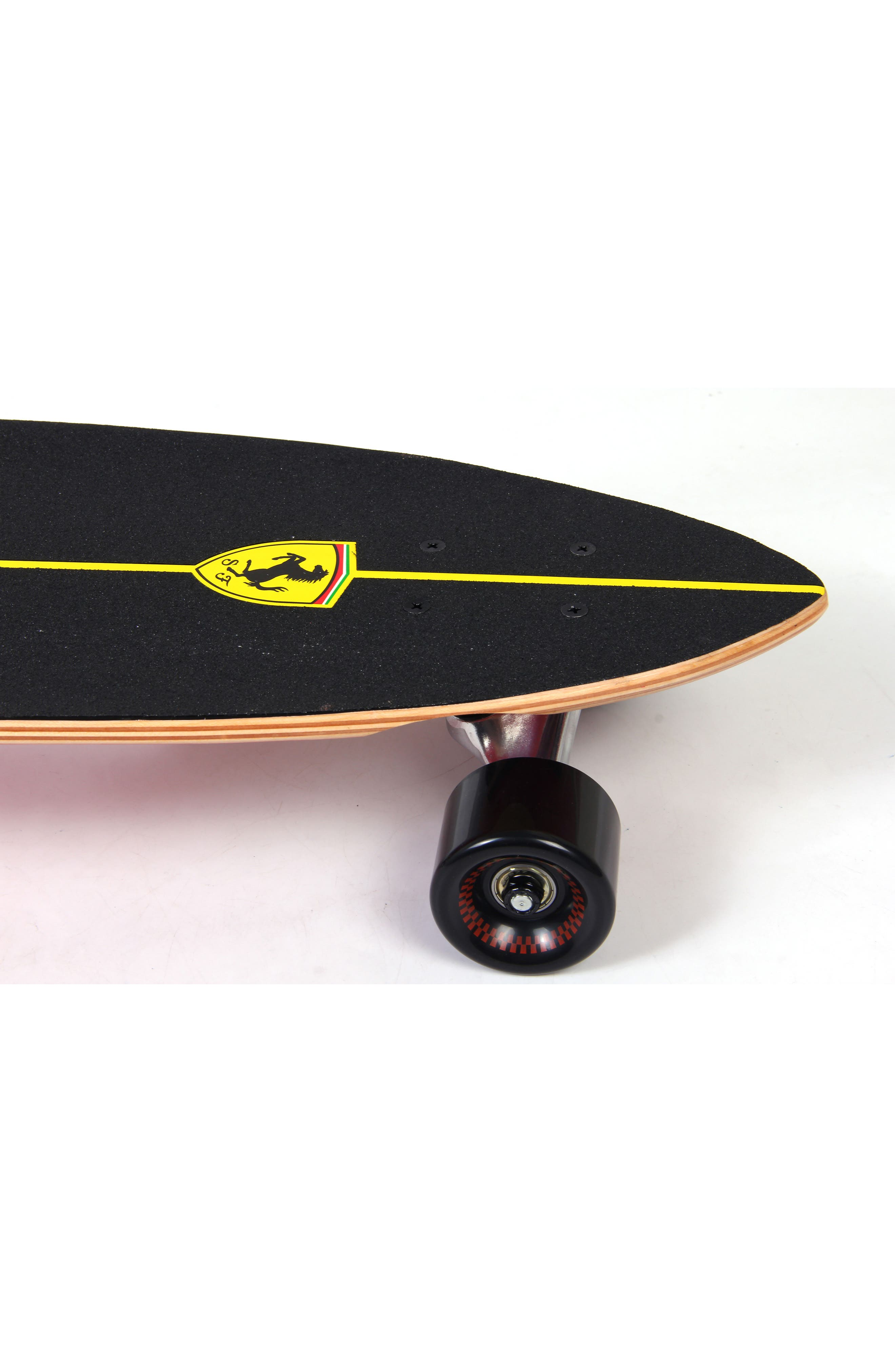Cruiser Skateboard,                             Alternate thumbnail 4, color,                             Black