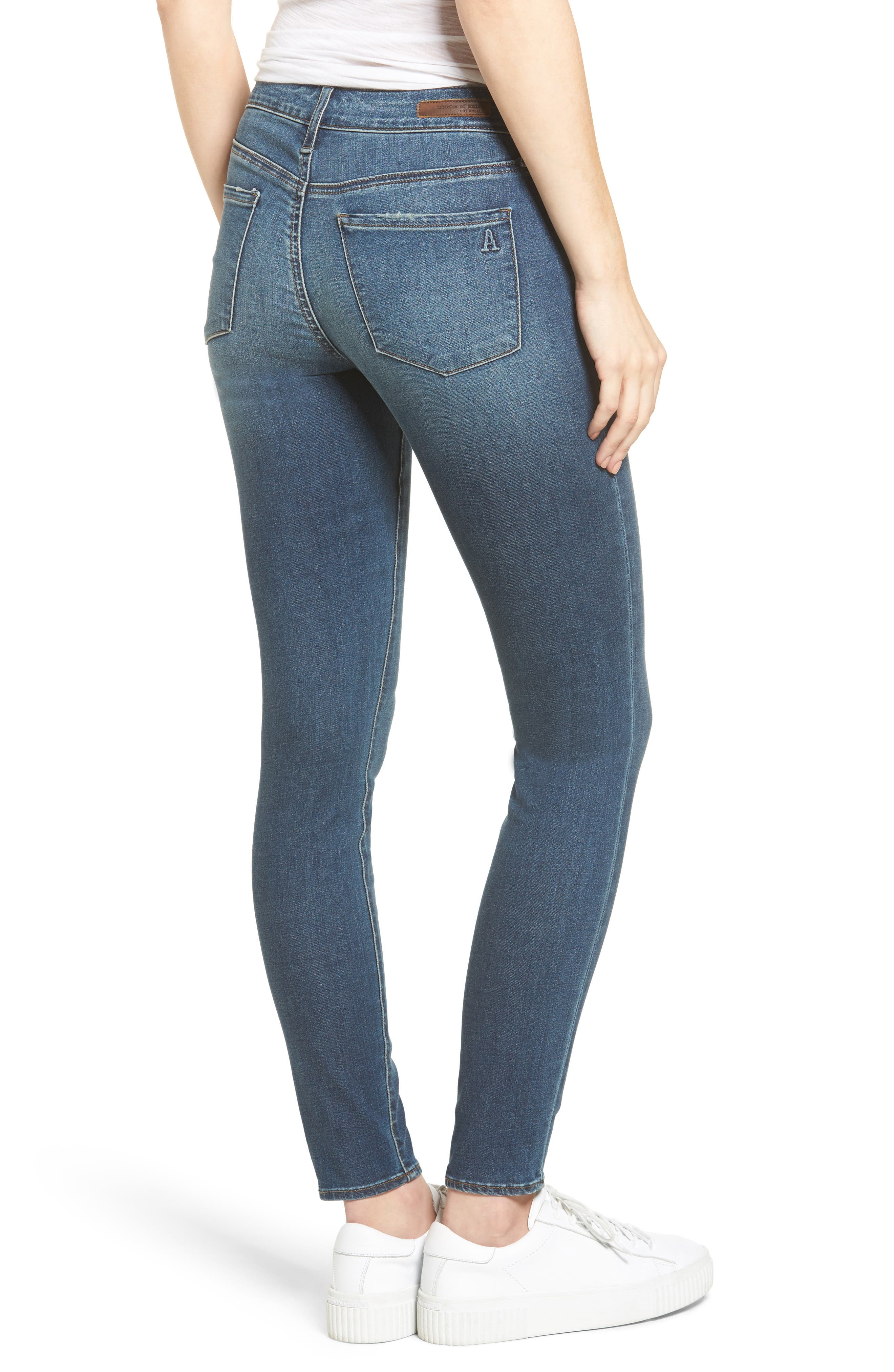 Alternate Image 2  - Articles of Society Britney Skinny Jeans (Harper)