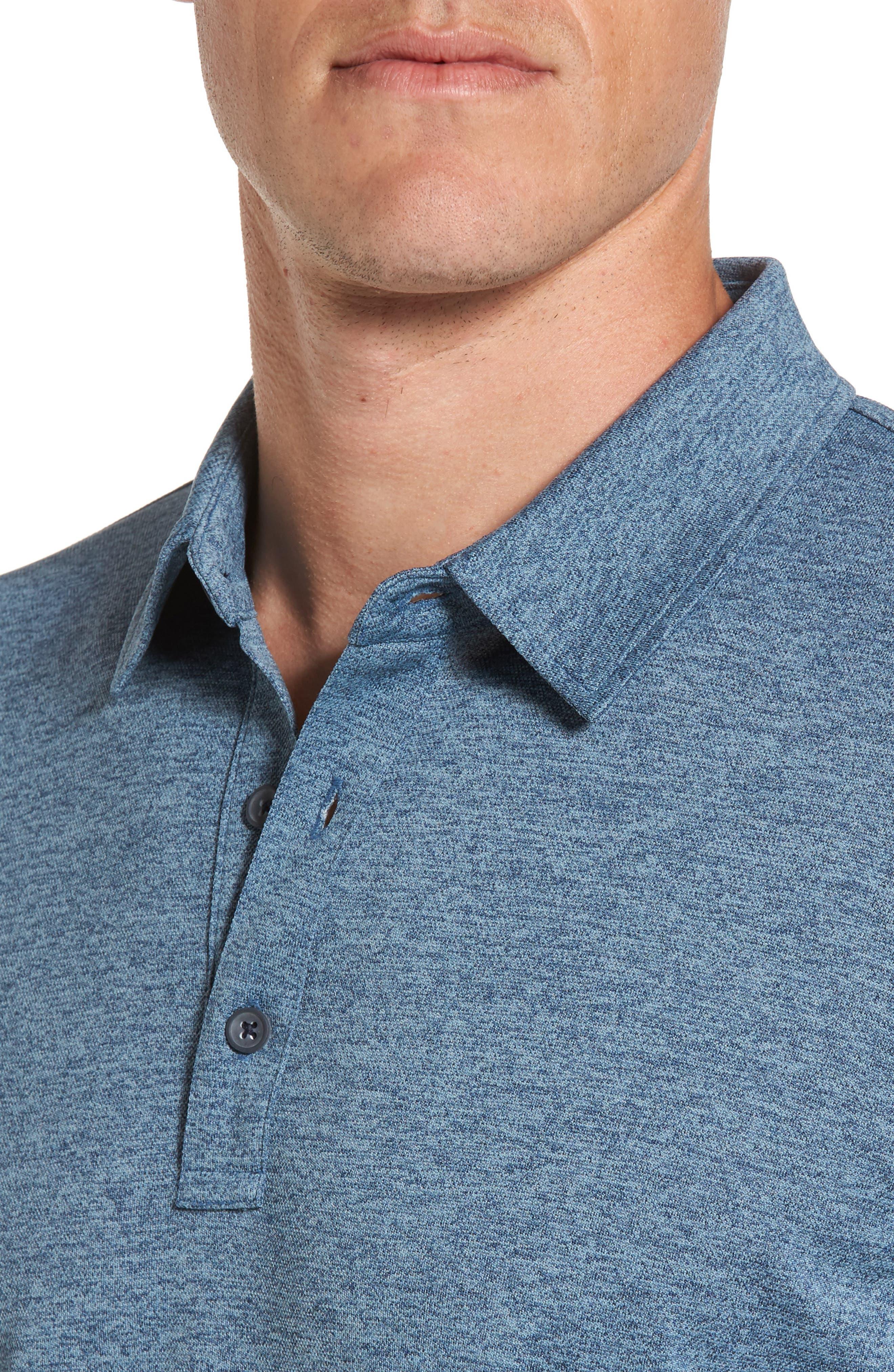 Alternate Image 4  - AG Hamden Long Sleeve Polo