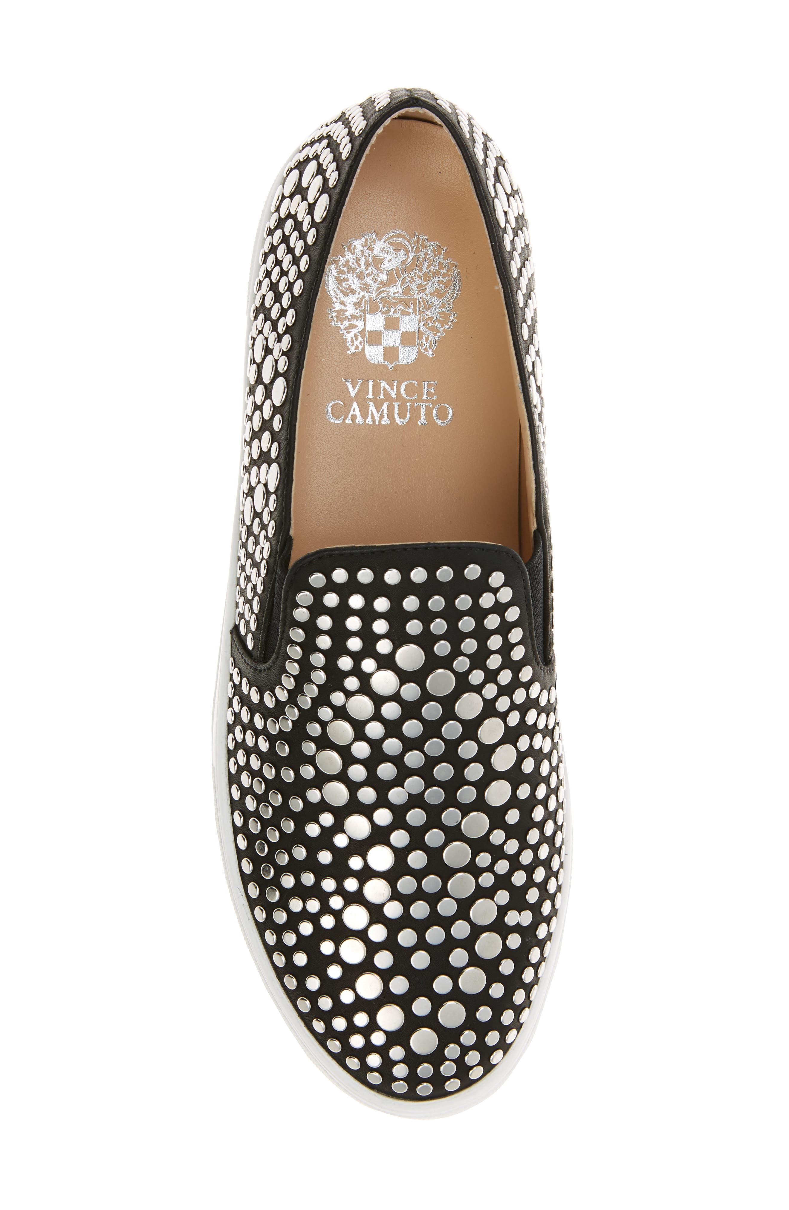 Alternate Image 5  - Vince Camuto Kindra Studded Slip-On Sneaker (Women)