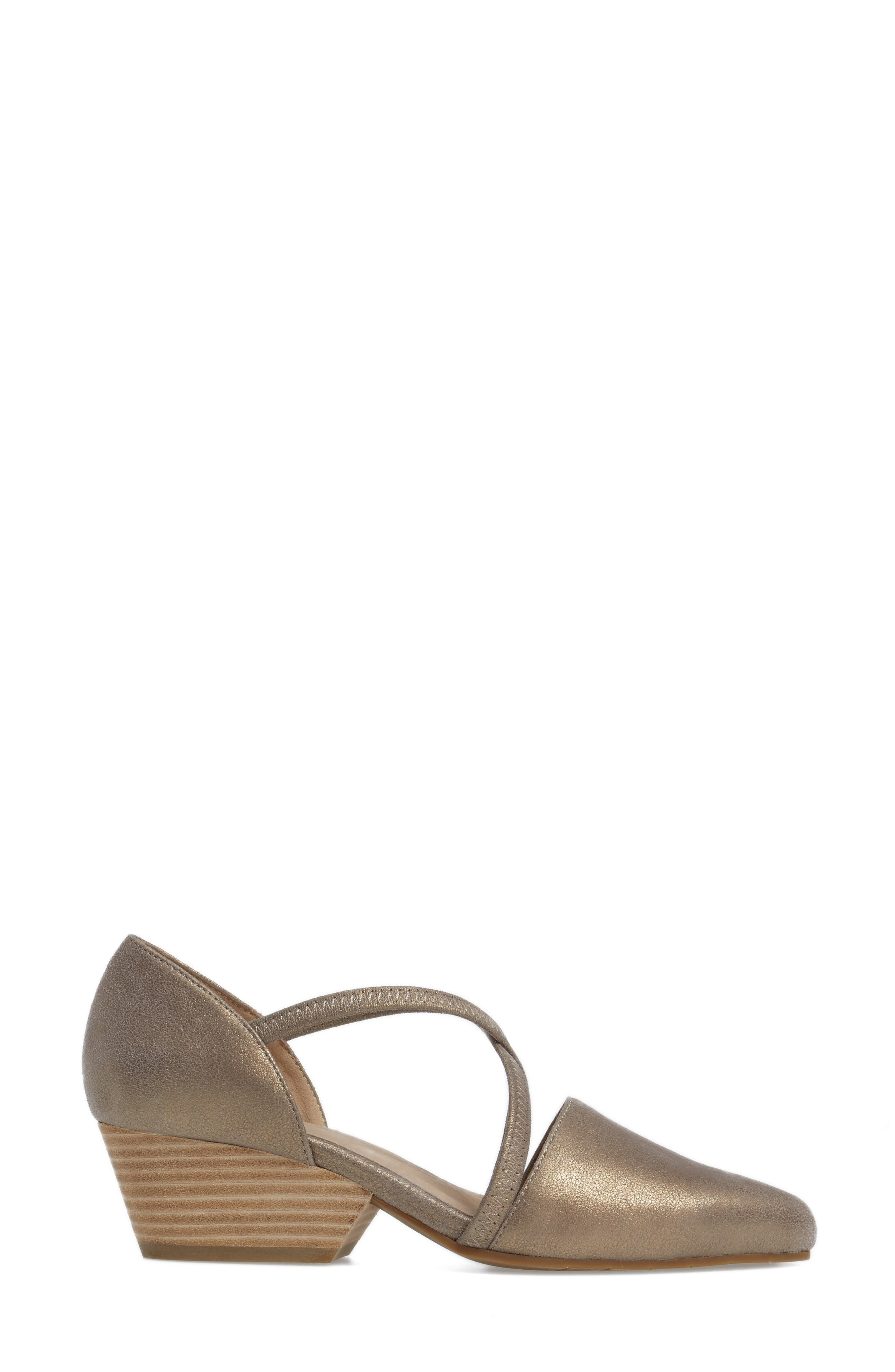 Alternate Image 3  - Eileen Fisher Poet Crisscross Pump (Women)