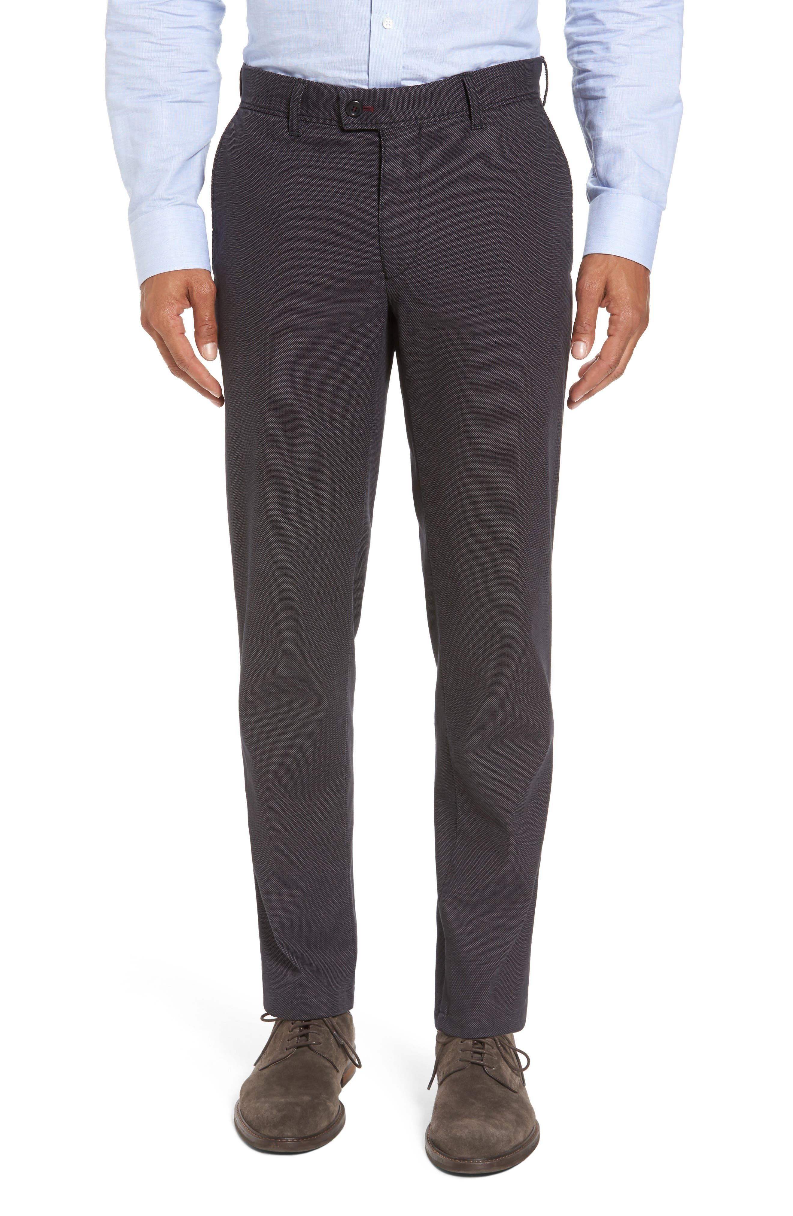 BRAX Texture Stretch Cotton Trousers