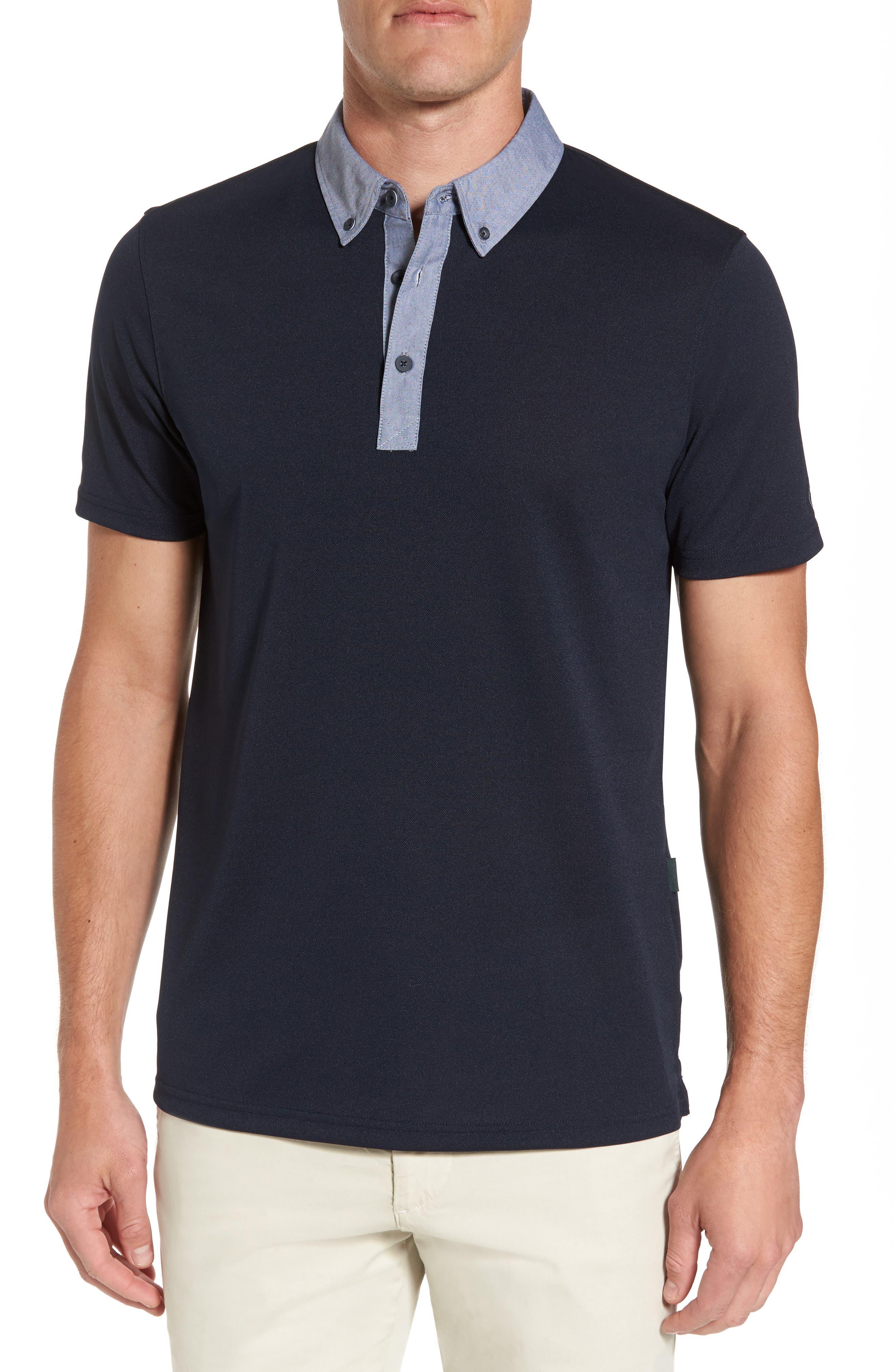 Desoto Polo,                         Main,                         color, Naval Blue
