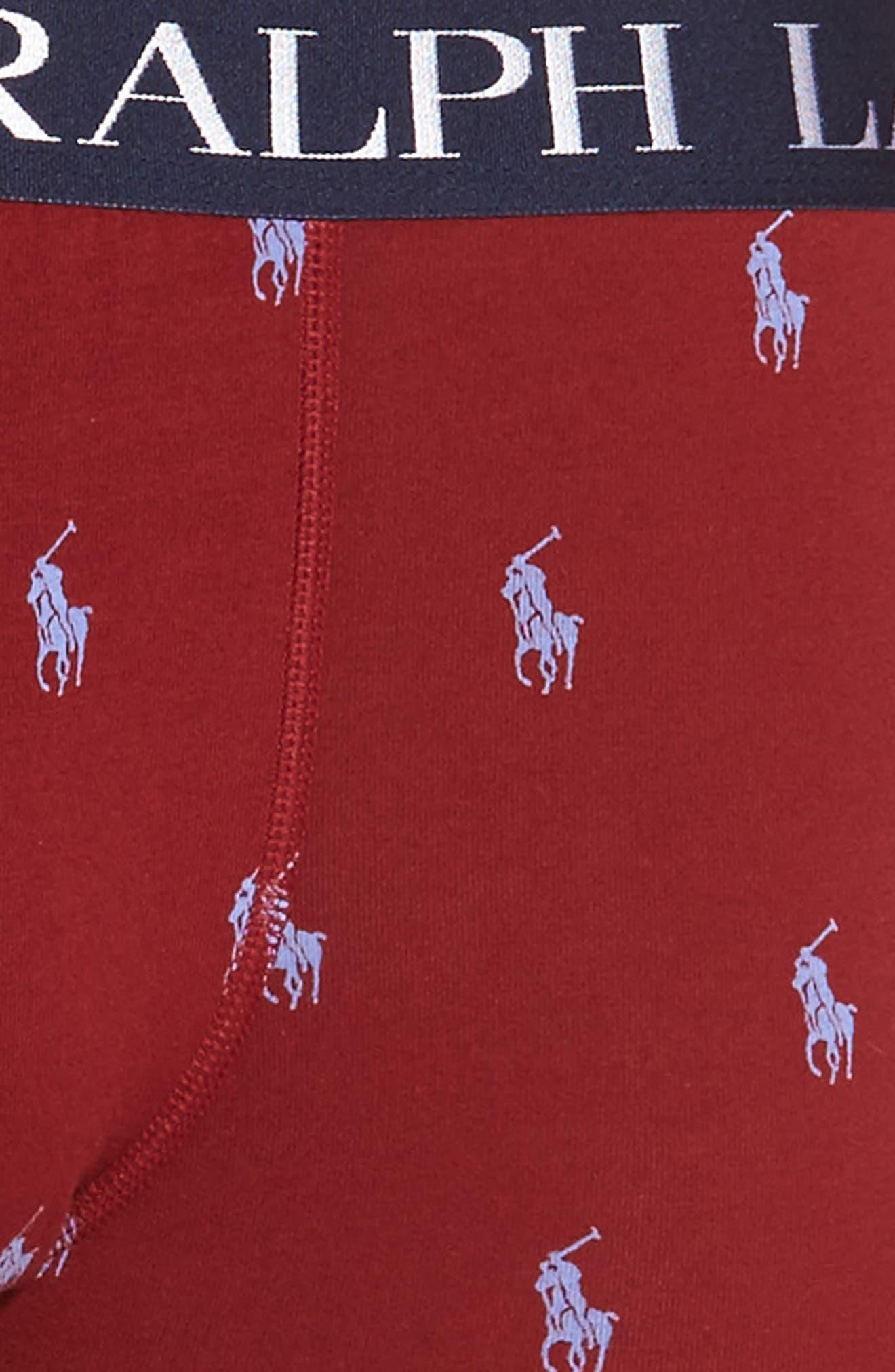 Alternate Image 4  - Polo Ralph Lauren Stretch Cotton Boxer Briefs