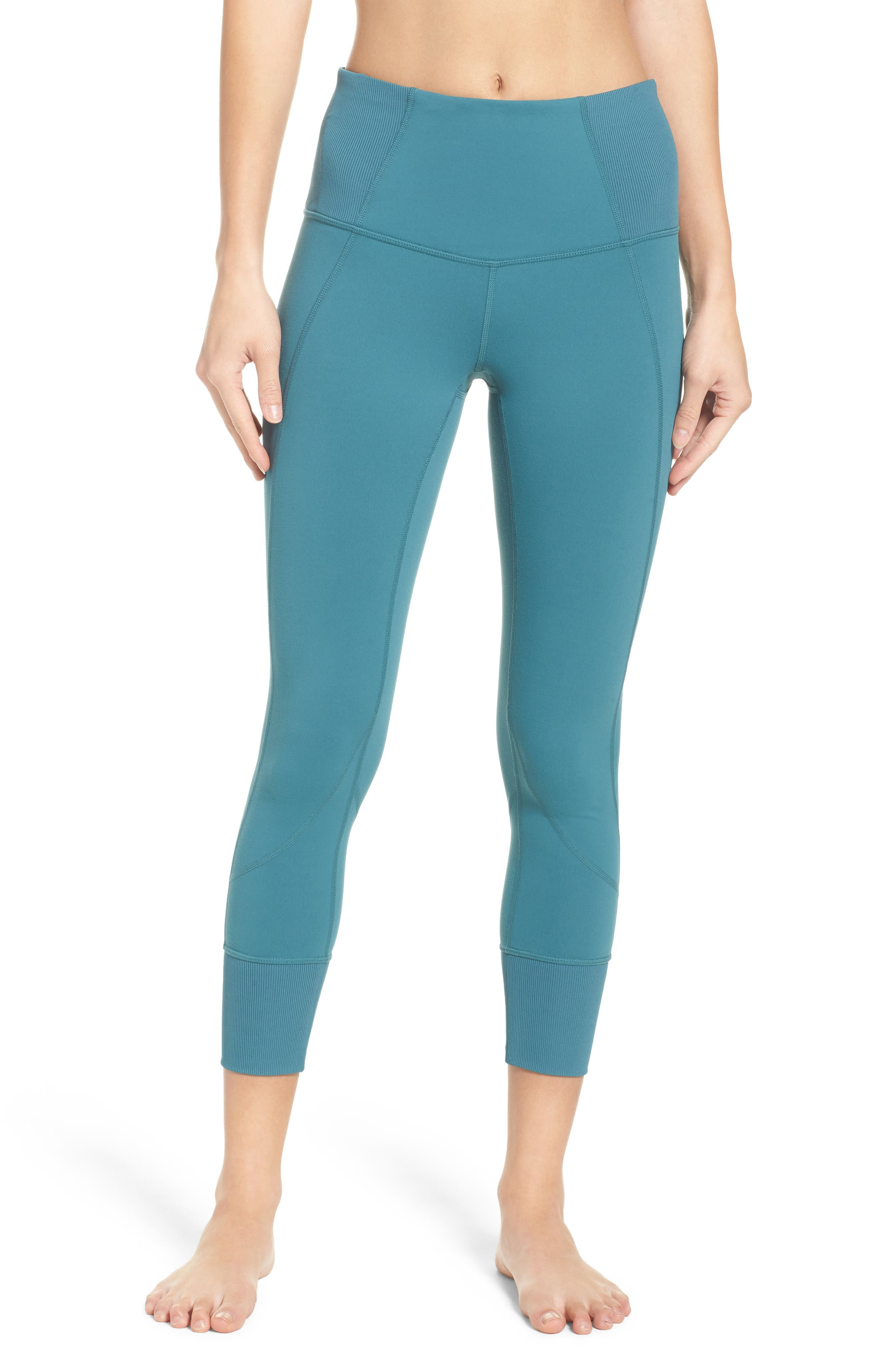 Zella Moonlight High Waist Midi Leggings