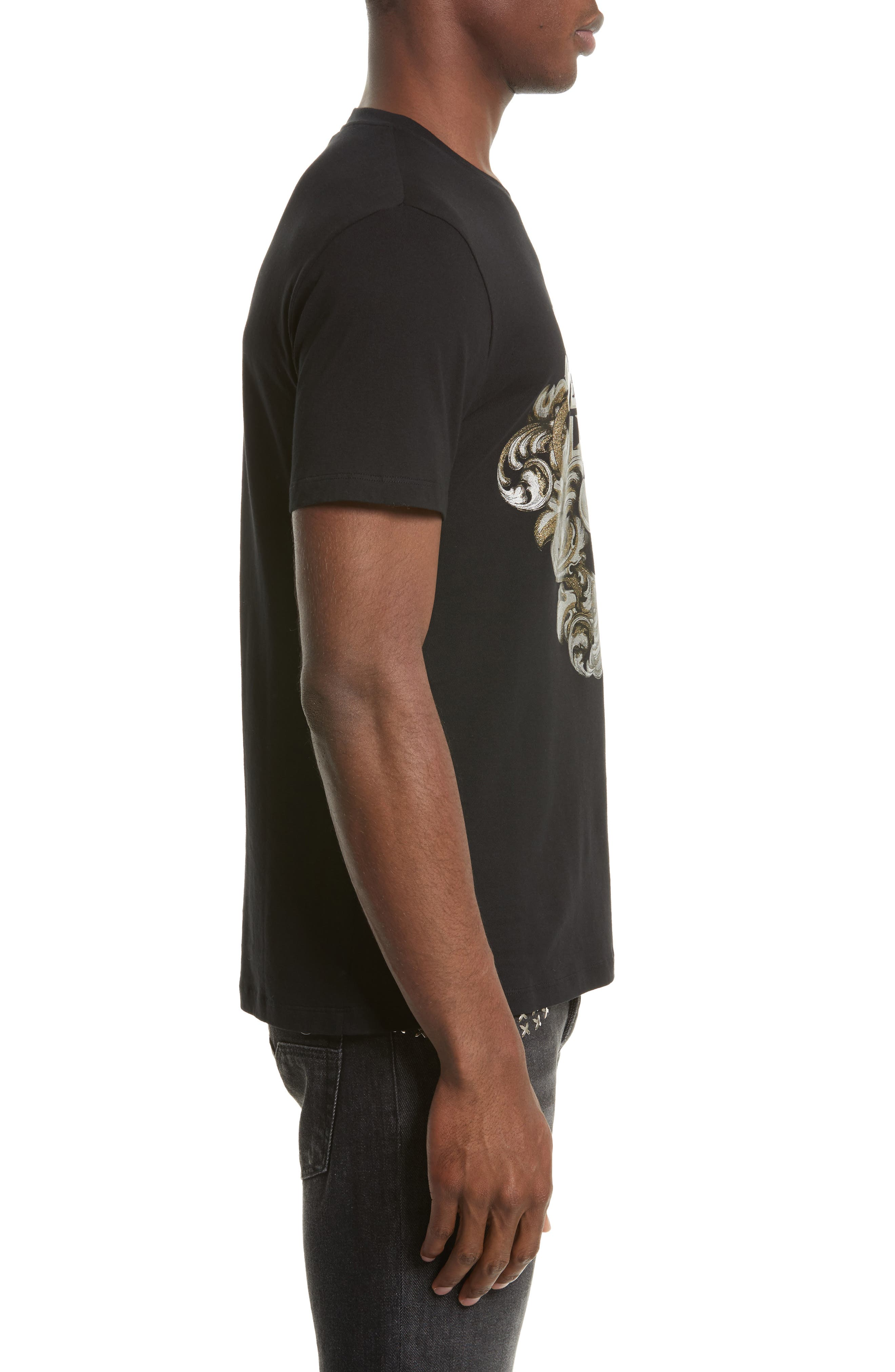Alternate Image 3  - Versace Collection Logo Graphic T-Shirt