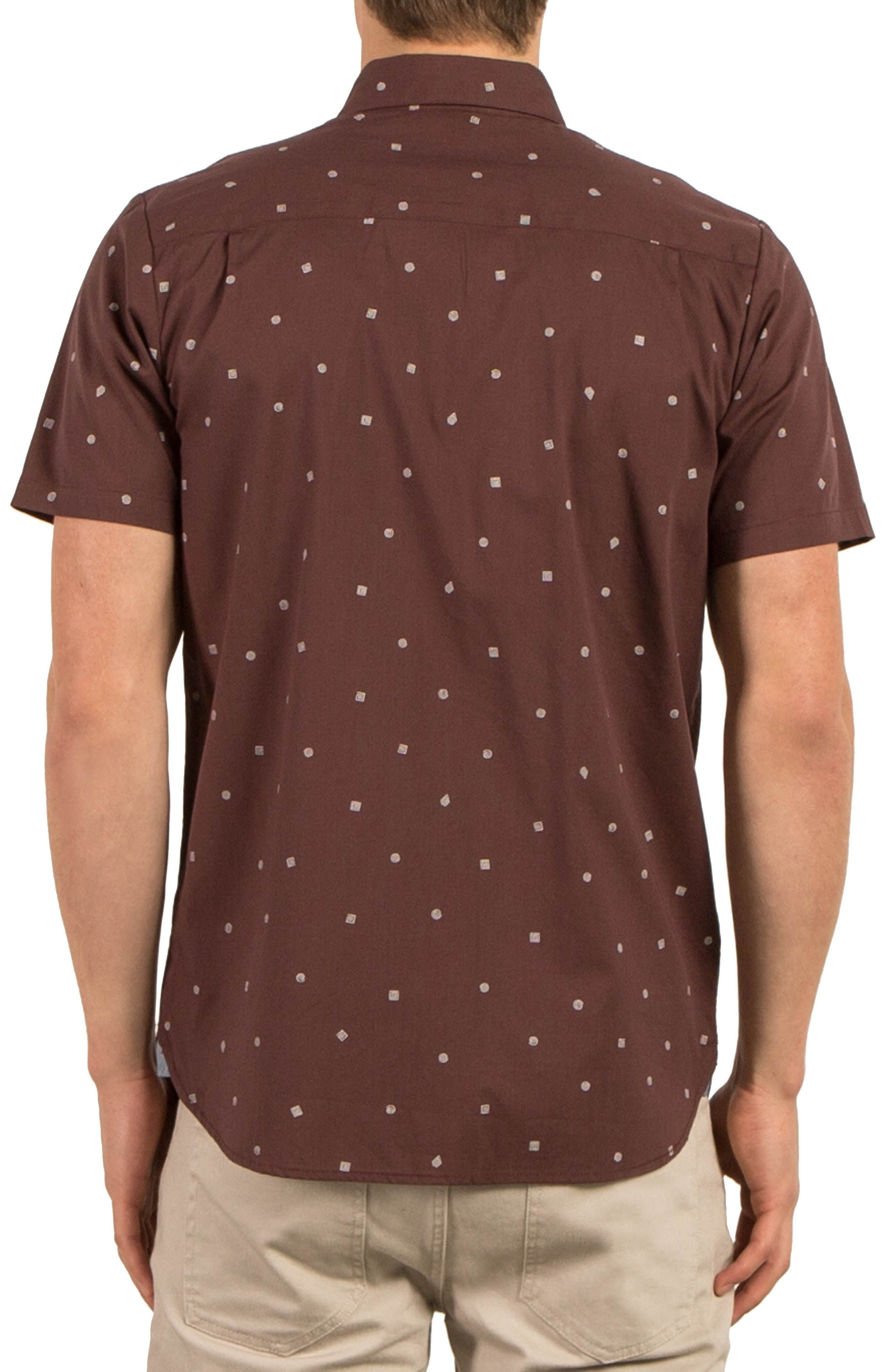 High Ace Print Shirt,                             Alternate thumbnail 2, color,                             Purple