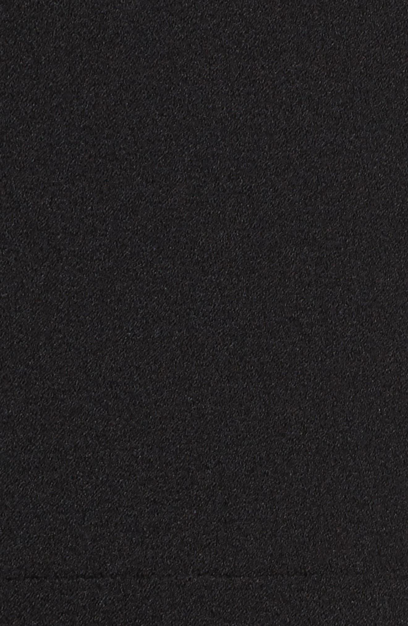 Bell Sleeve Jumpsuit,                             Alternate thumbnail 5, color,                             Black