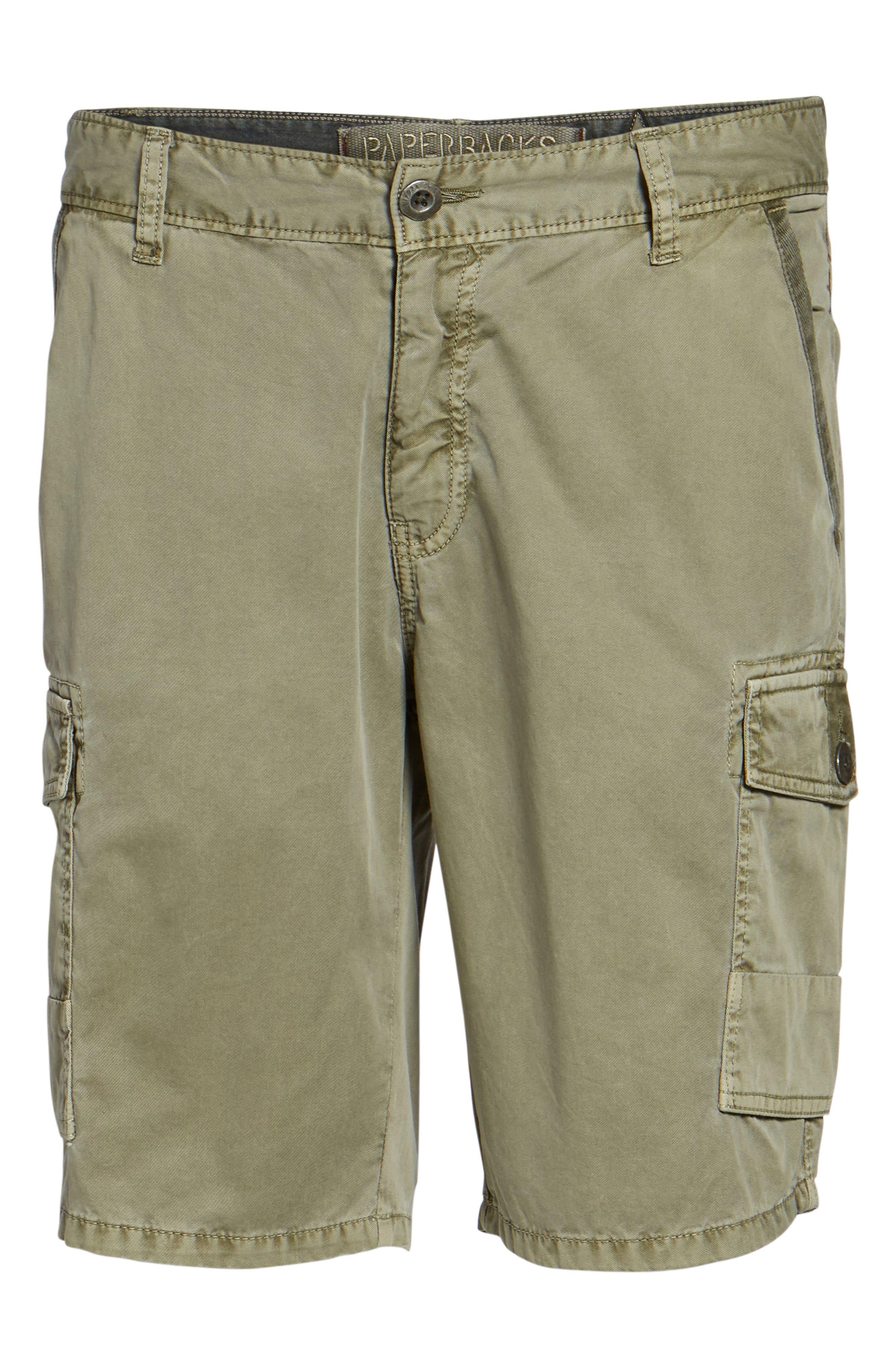 'Newport' Cargo Shorts,                             Alternate thumbnail 6, color,                             Olive