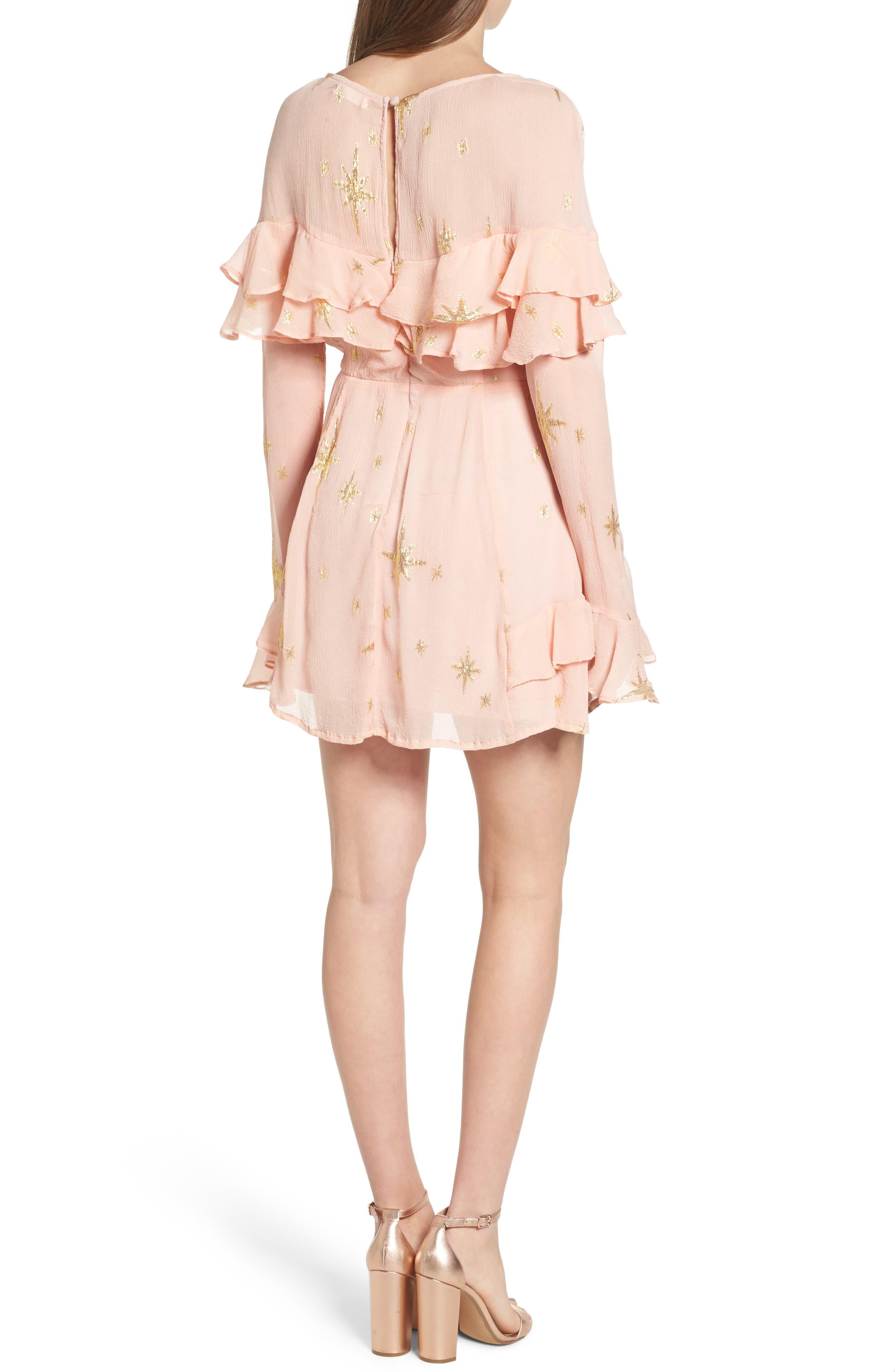 Alternate Image 2  - For Love & Lemons Gilded Star Minidress