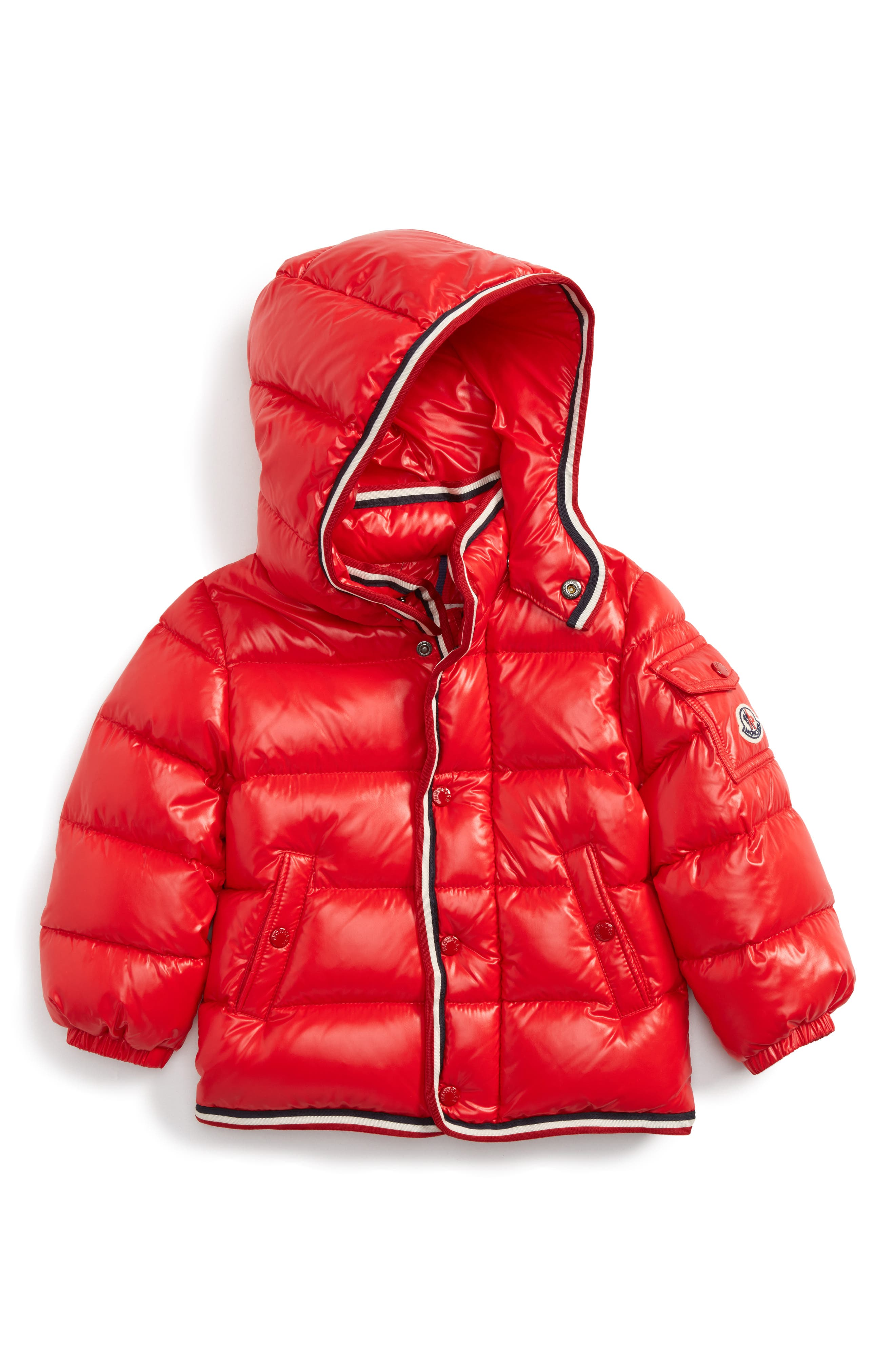 Moncler Abelard Water Repellent Down Jacket (Toddler Boys)
