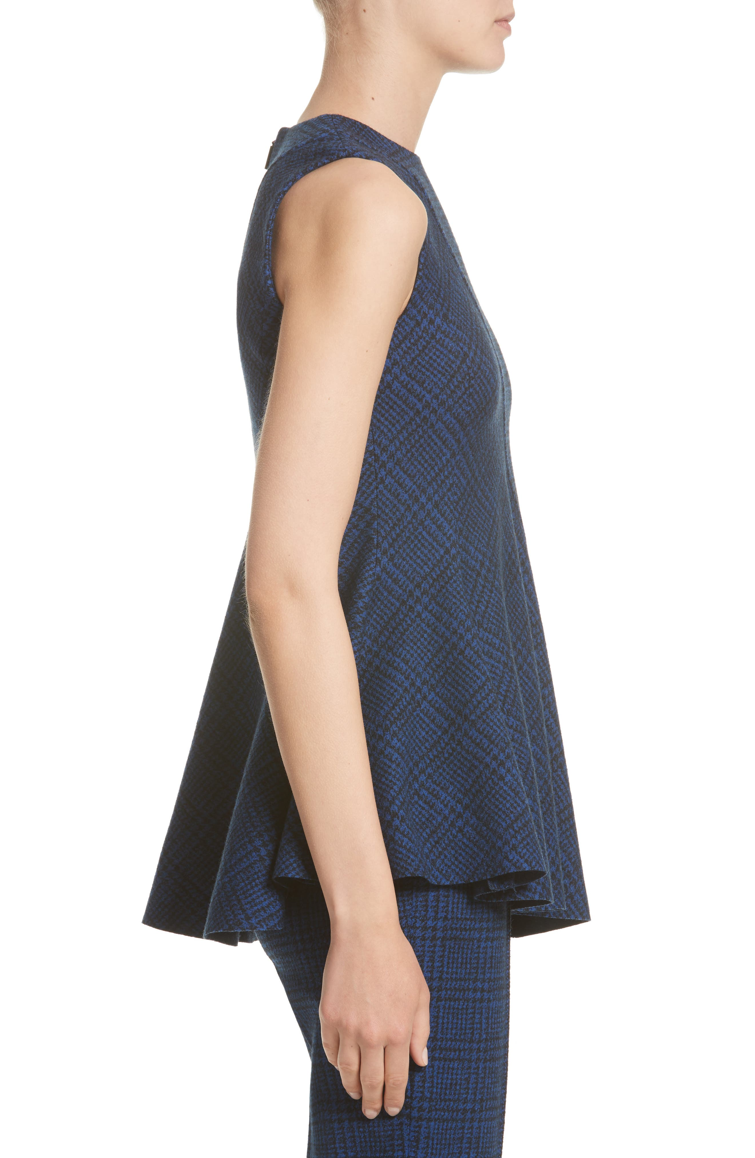 Alternate Image 3  - Jason Wu Check Jersey Asymmetrical Peplum Top