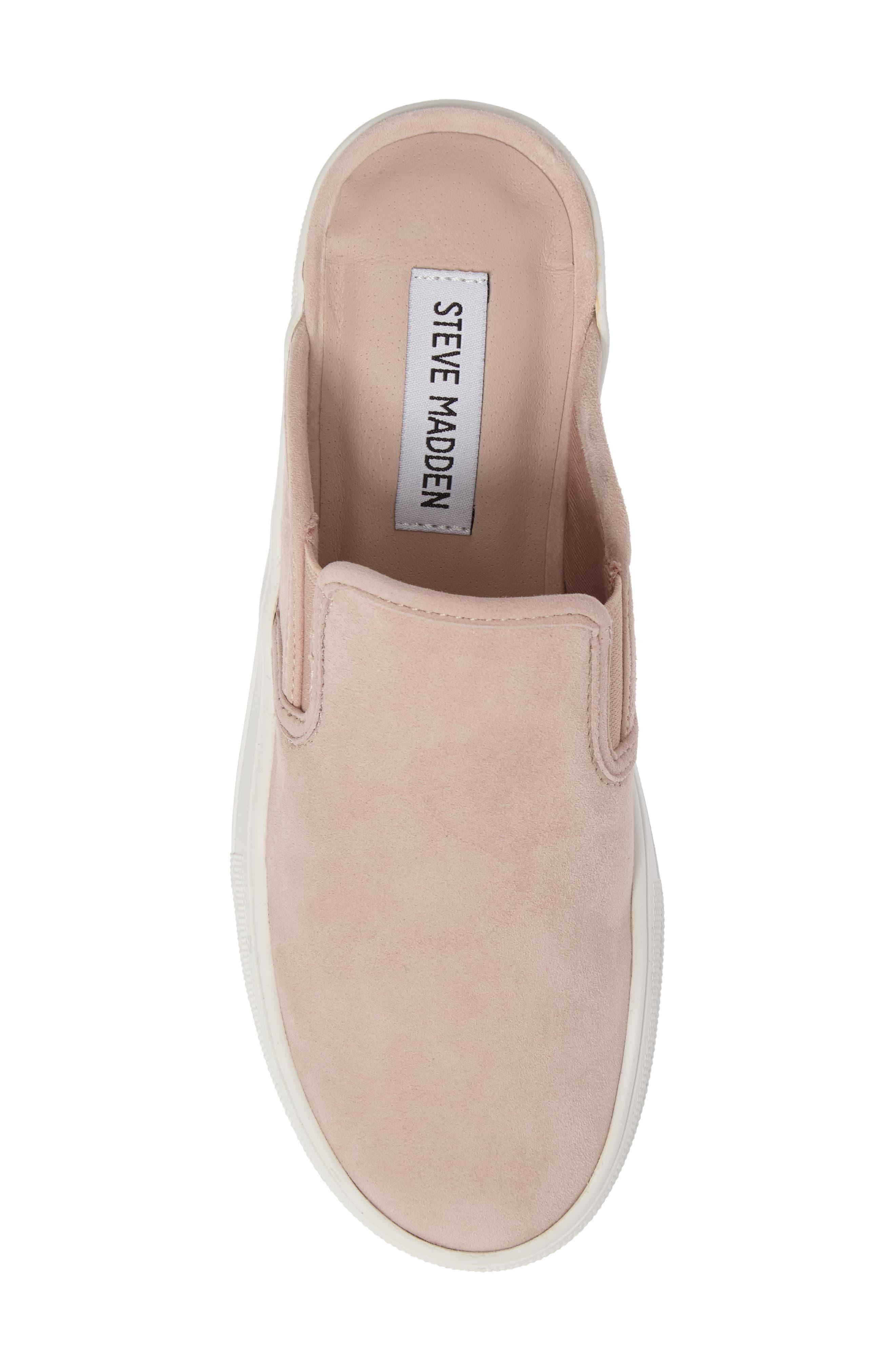 Glenda Sneaker Mule,                             Alternate thumbnail 5, color,                             Light Pink