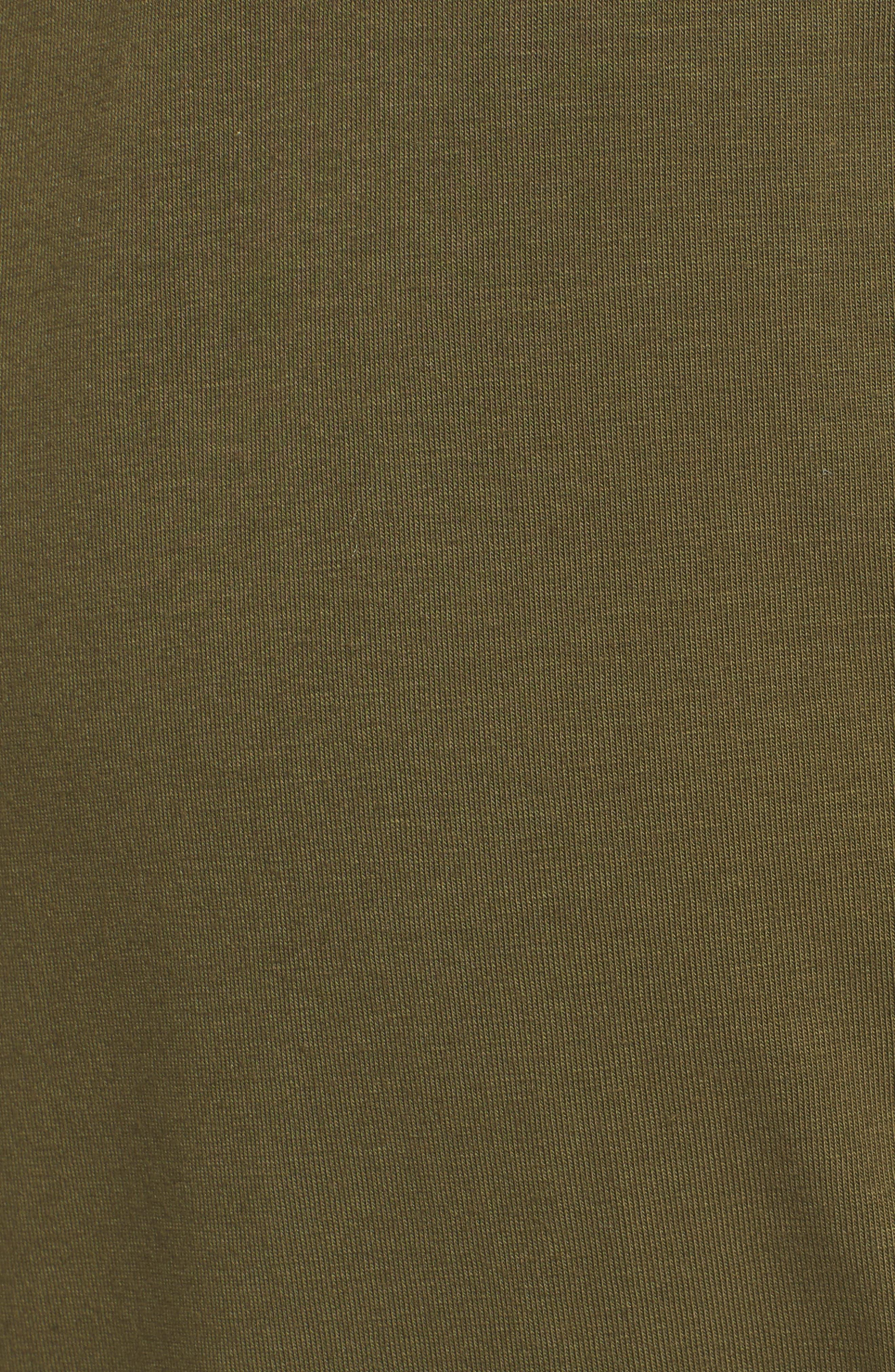 Alternate Image 5  - Eileen Fisher Stretch Organic Cotton Slim Slouchy Ankle Pants (Regular & Petite)