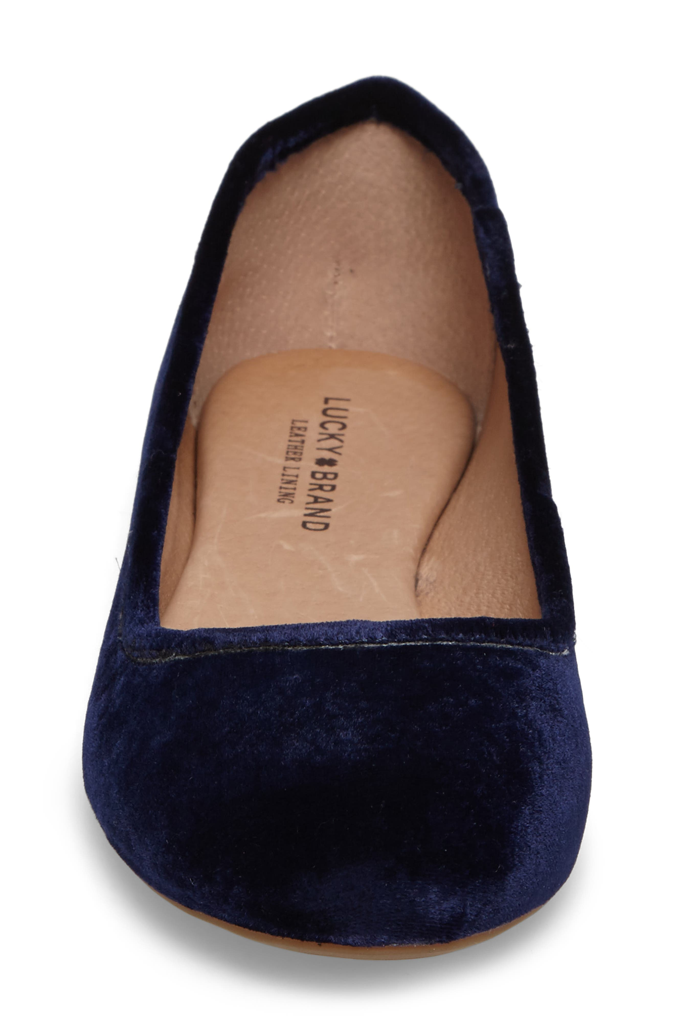 Alternate Image 4  - Lucky Brand Eaden Flat (Women)