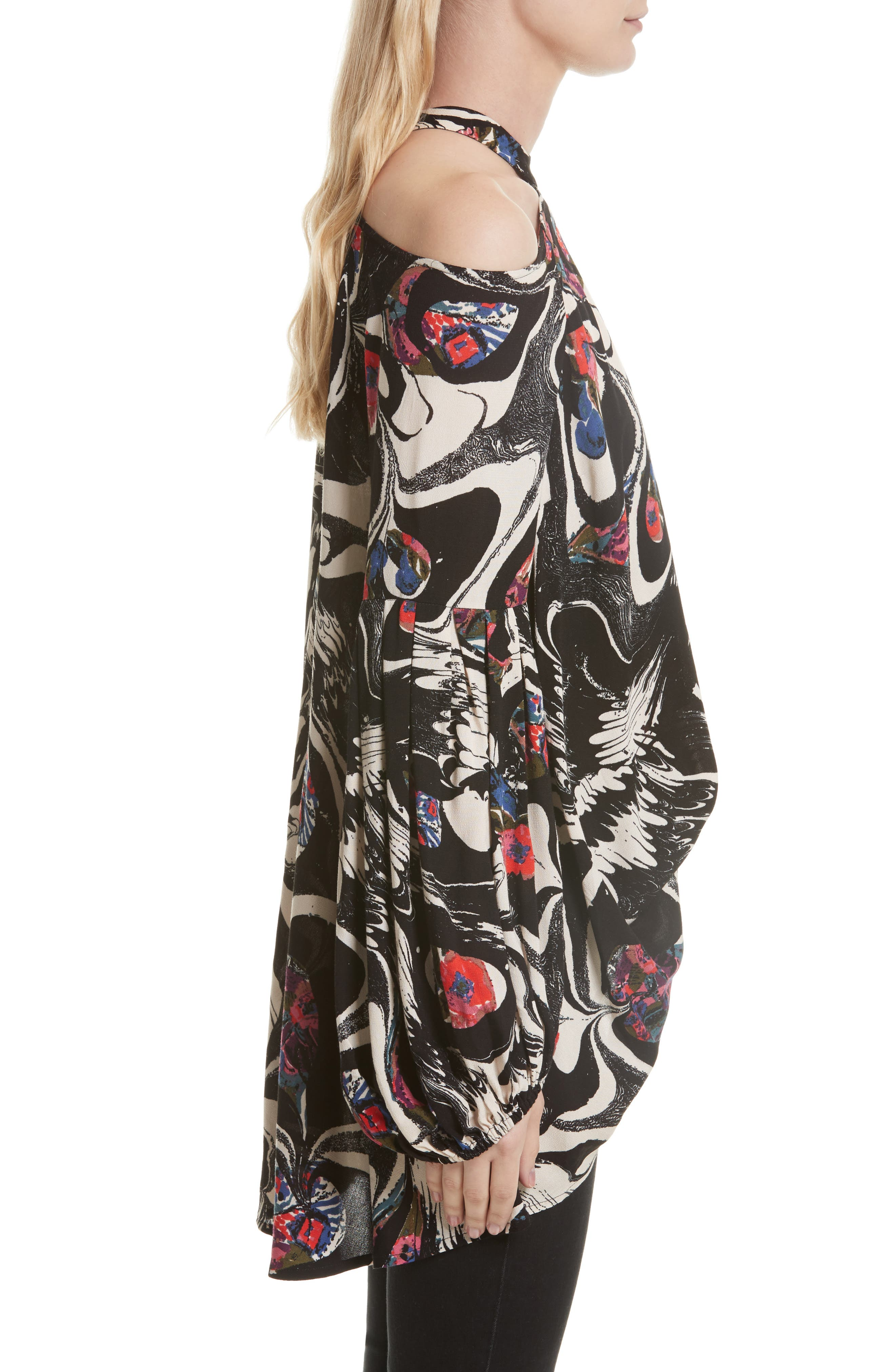 Alternate Image 3  - Free People Drift Away Cold Shoulder Tunic
