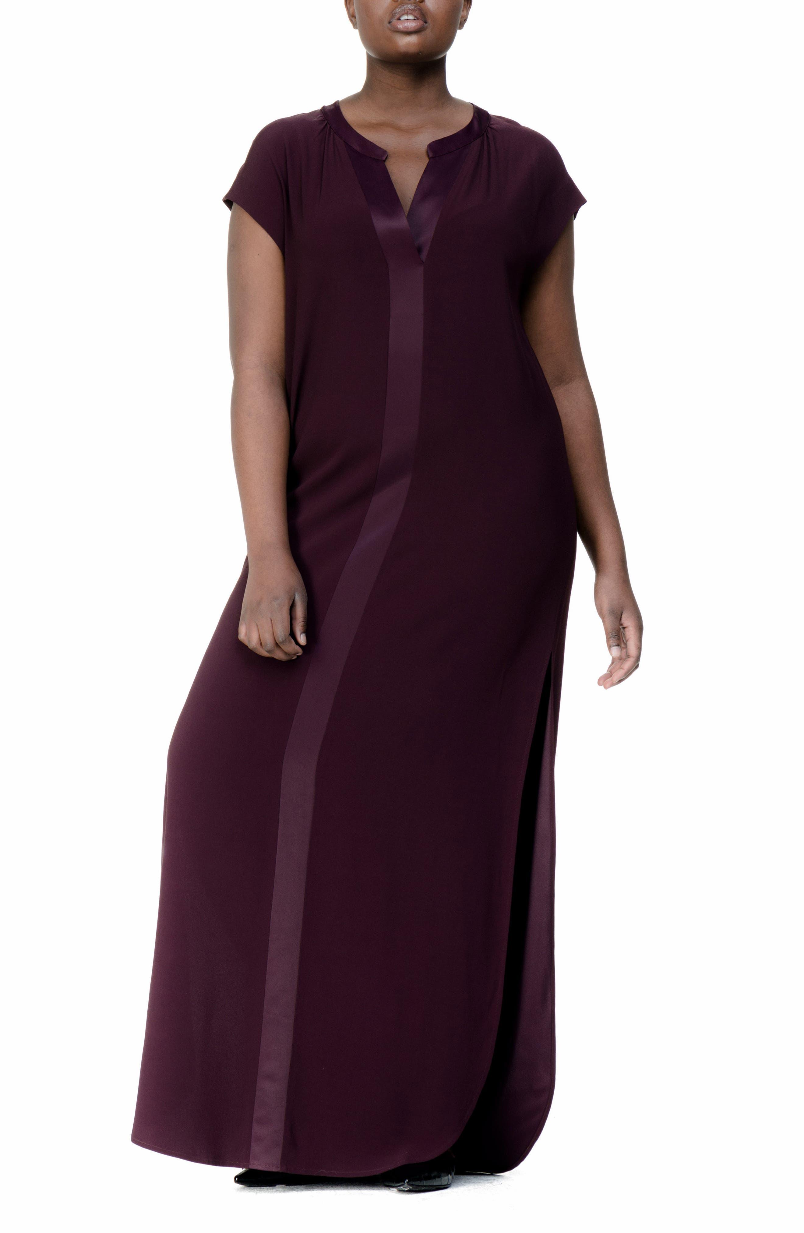 UNIVERSAL STANDARD Winsett A-Line Gown (Plus Size)