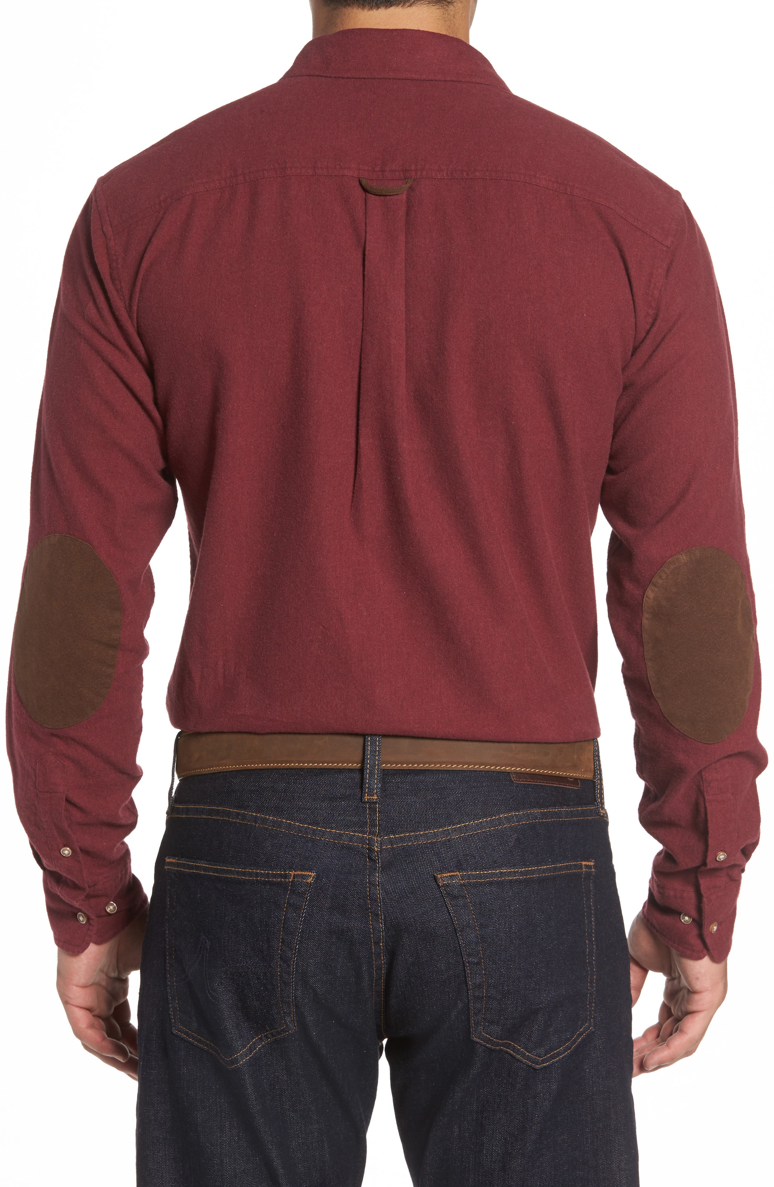 Alternate Image 2  - johnnie-O Patch Classic Fit Sport Shirt